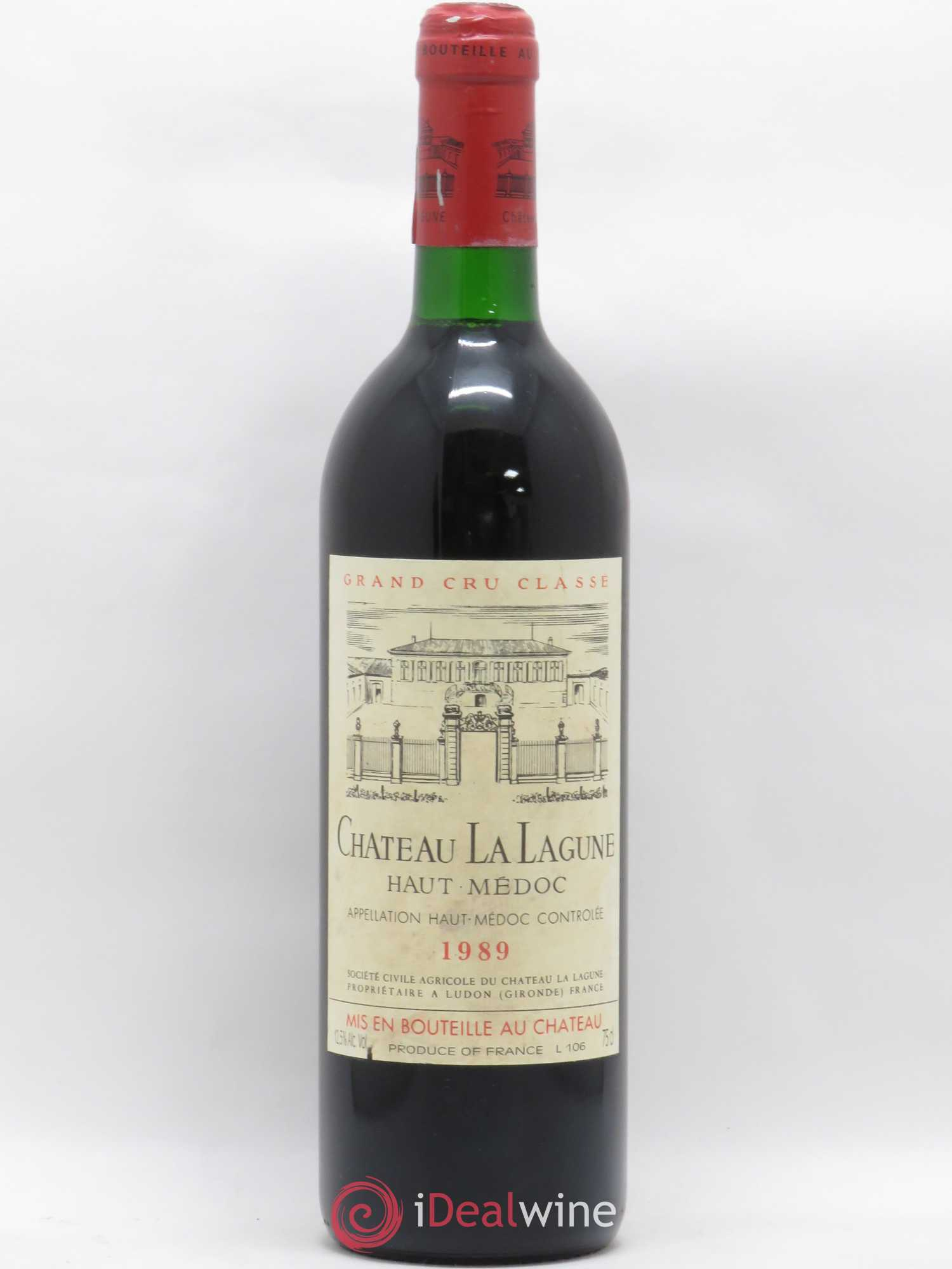 Château La Lagune 3ème Grand Cru Classé  1989 - Lot of 1 Bottle