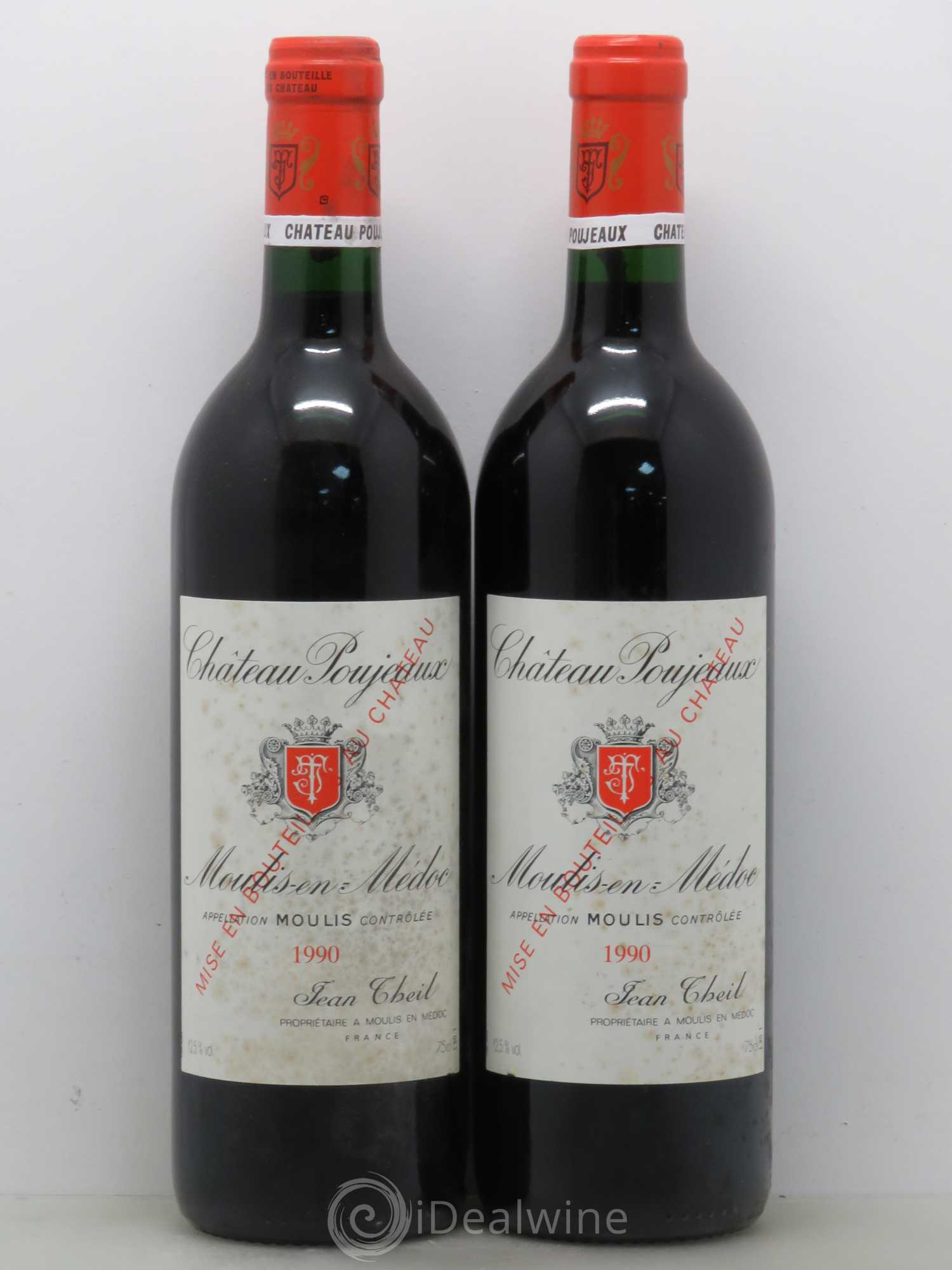 Buy ch teau poujeaux 1990 lot 10099 for Buy chateaubriand