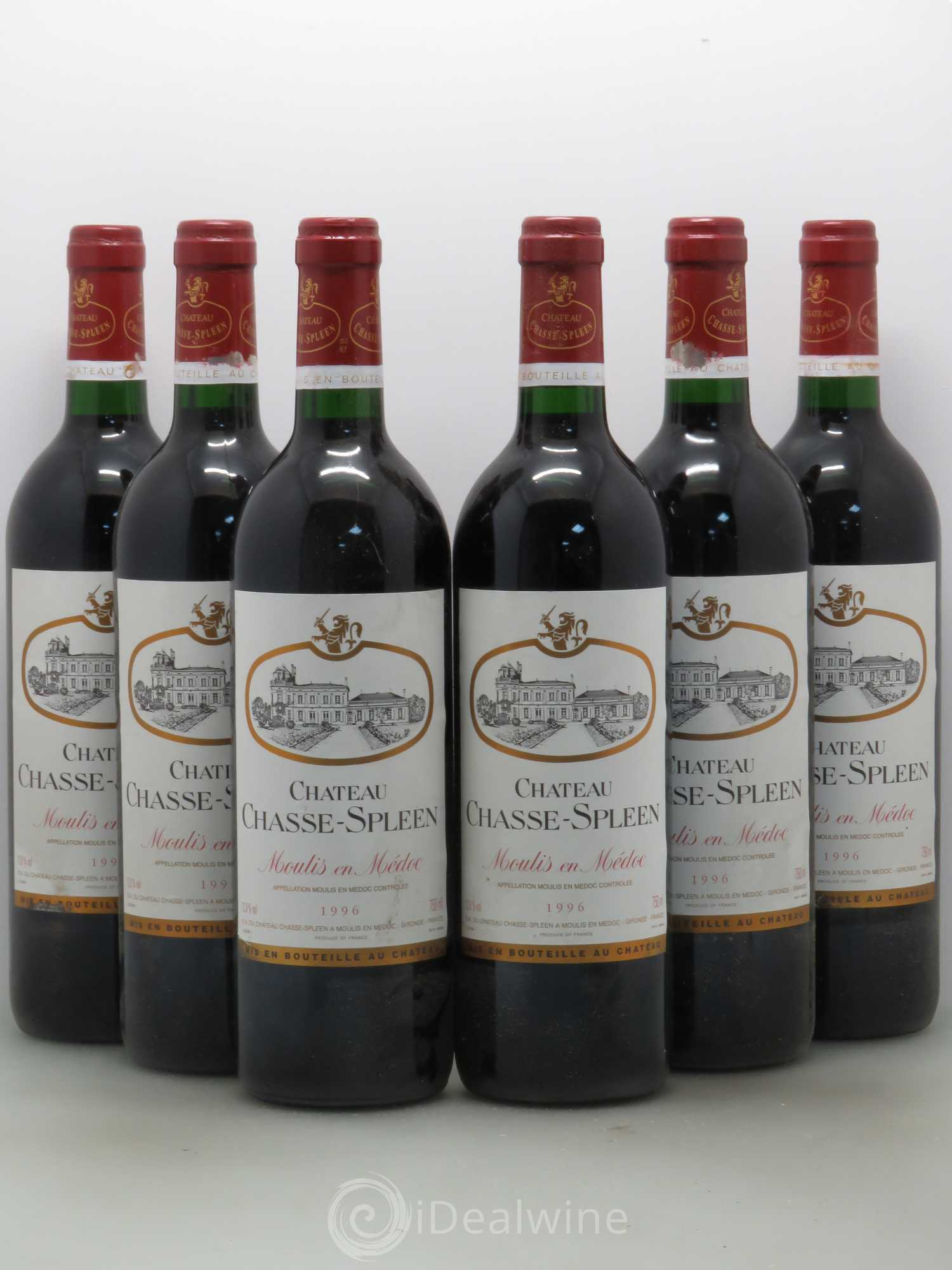 Buy ch teau chasse spleen 1996 lot 10512 for Buy chateaubriand