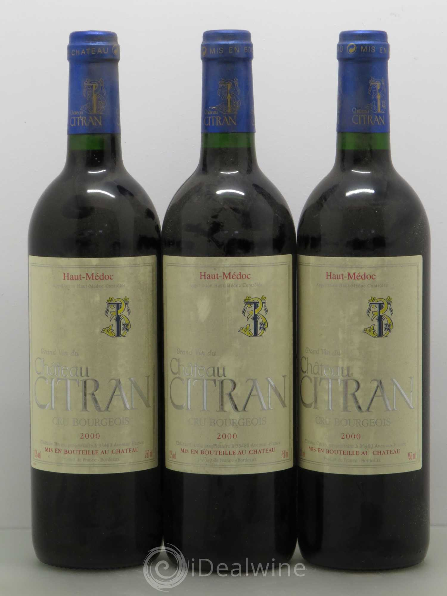 Buy ch teau citran cru bourgeois 2000 lot 11175 for Buy chateaubriand