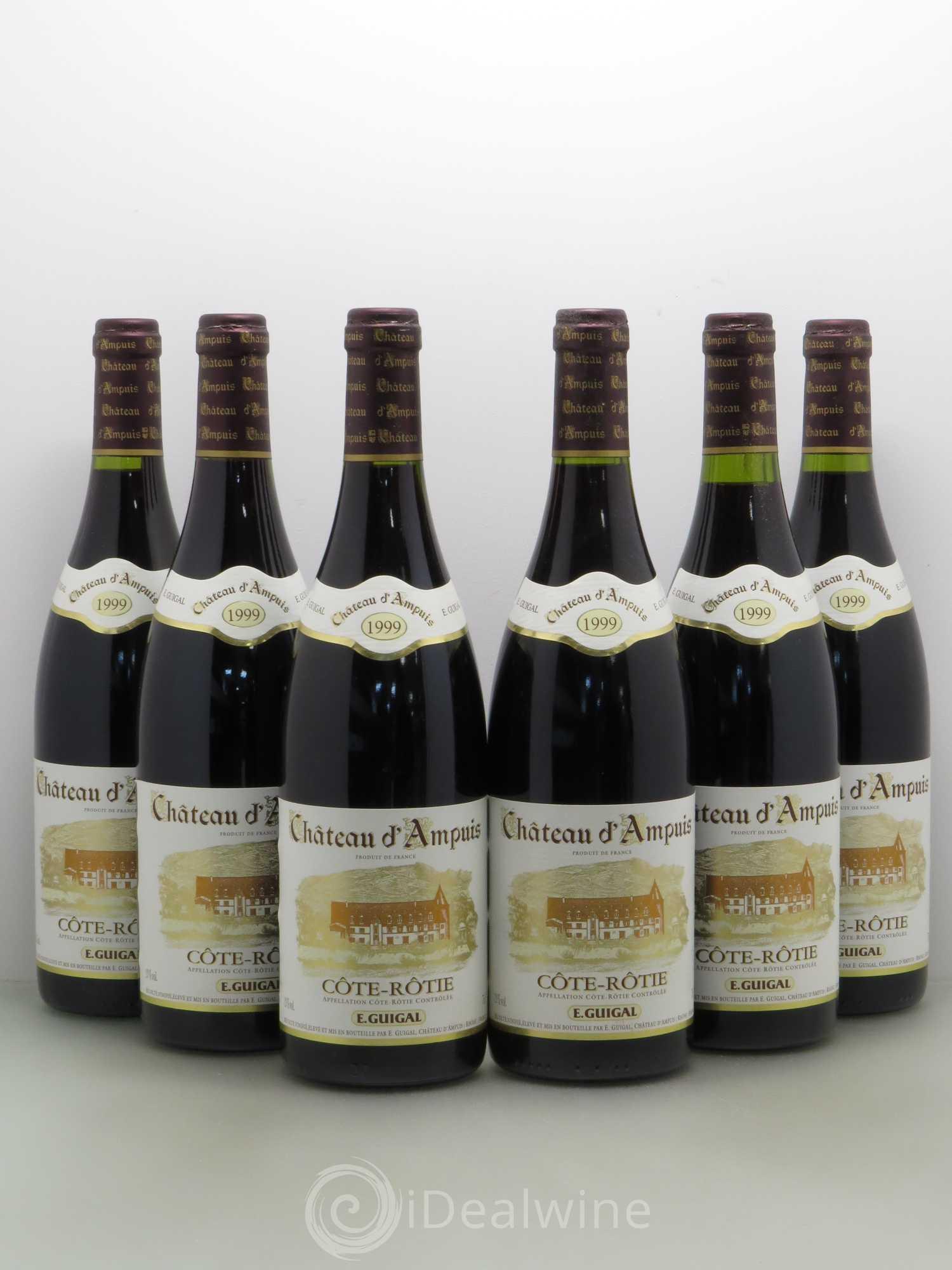 Acheter c te r tie ch teau d 39 ampuis guigal 1999 lot 8233 - Salon des vins ampuis ...