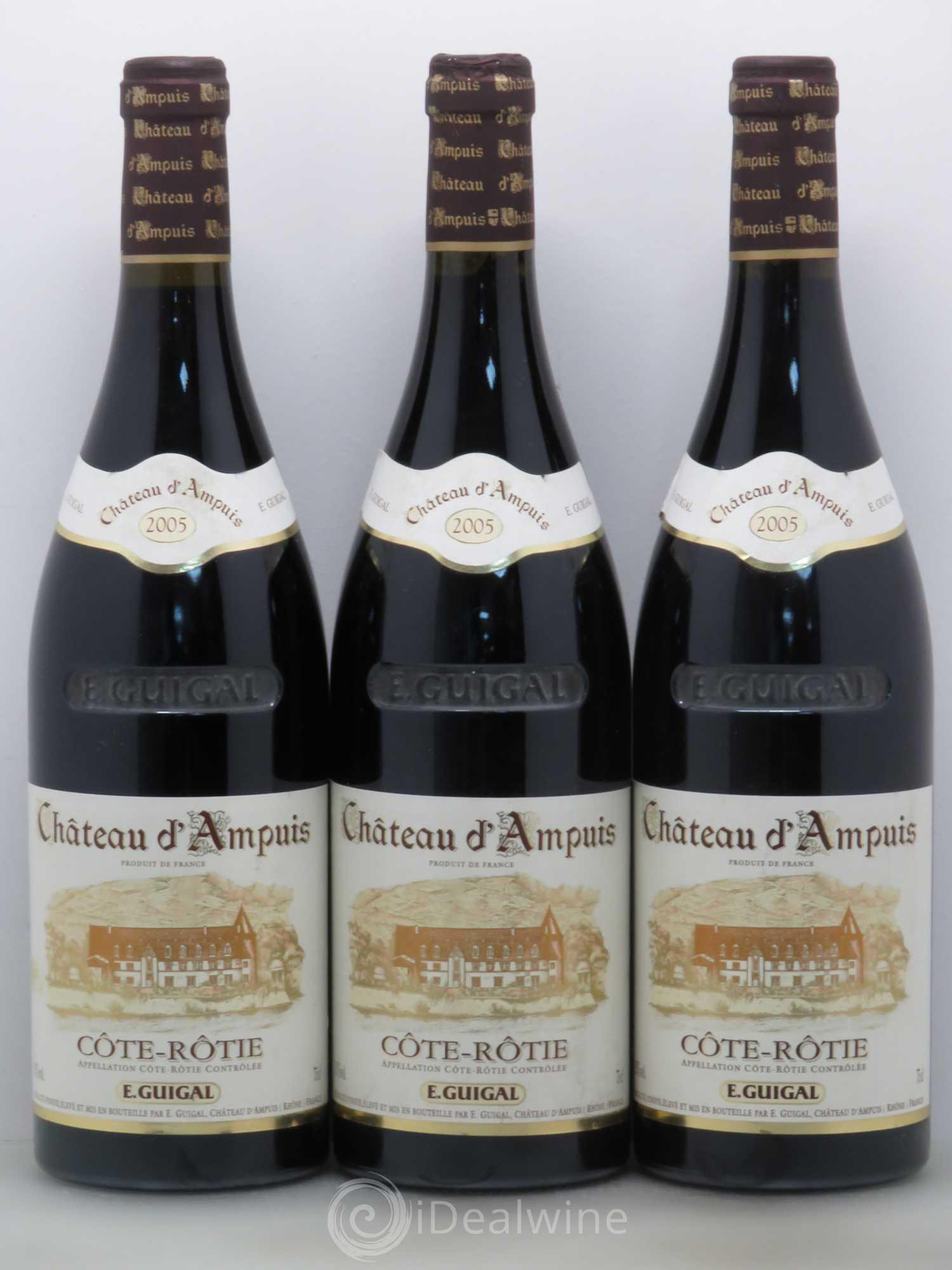 Acheter c te r tie ch teau d 39 ampuis guigal 2005 lot 8747 - Salon des vins ampuis ...