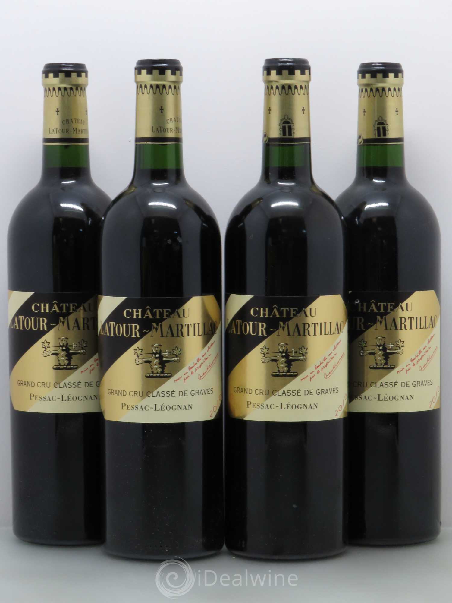 acheter ch teau latour martillac cru class de graves 2010 lot 14591. Black Bedroom Furniture Sets. Home Design Ideas