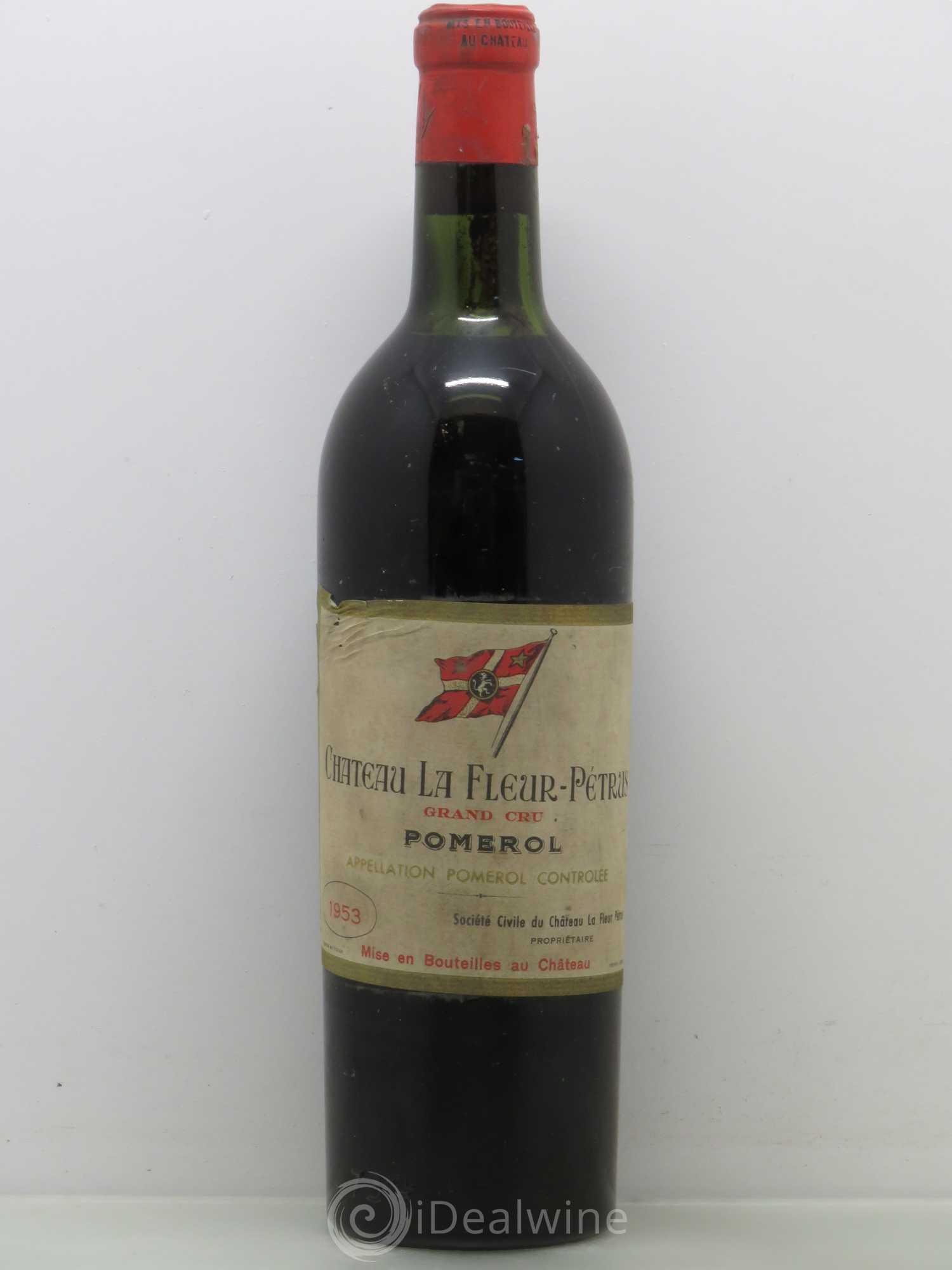 Buy Chateau La Fleur Petrus 1953 Lot 11044