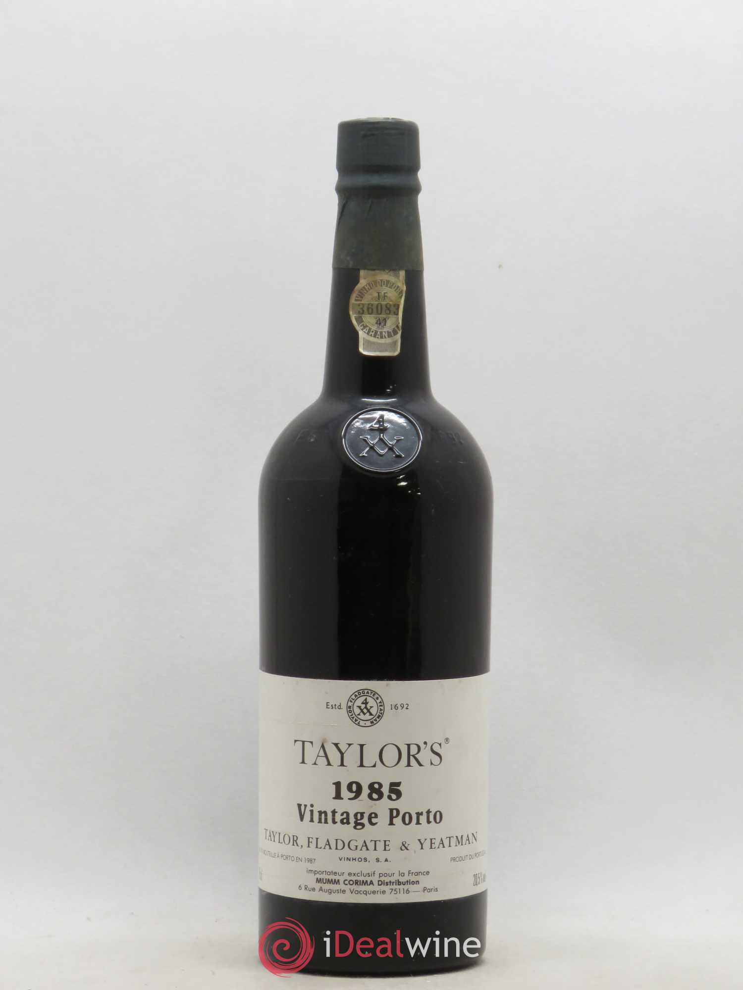 Porto Taylor's Vintage  1985 - Lot of 1 Bottle
