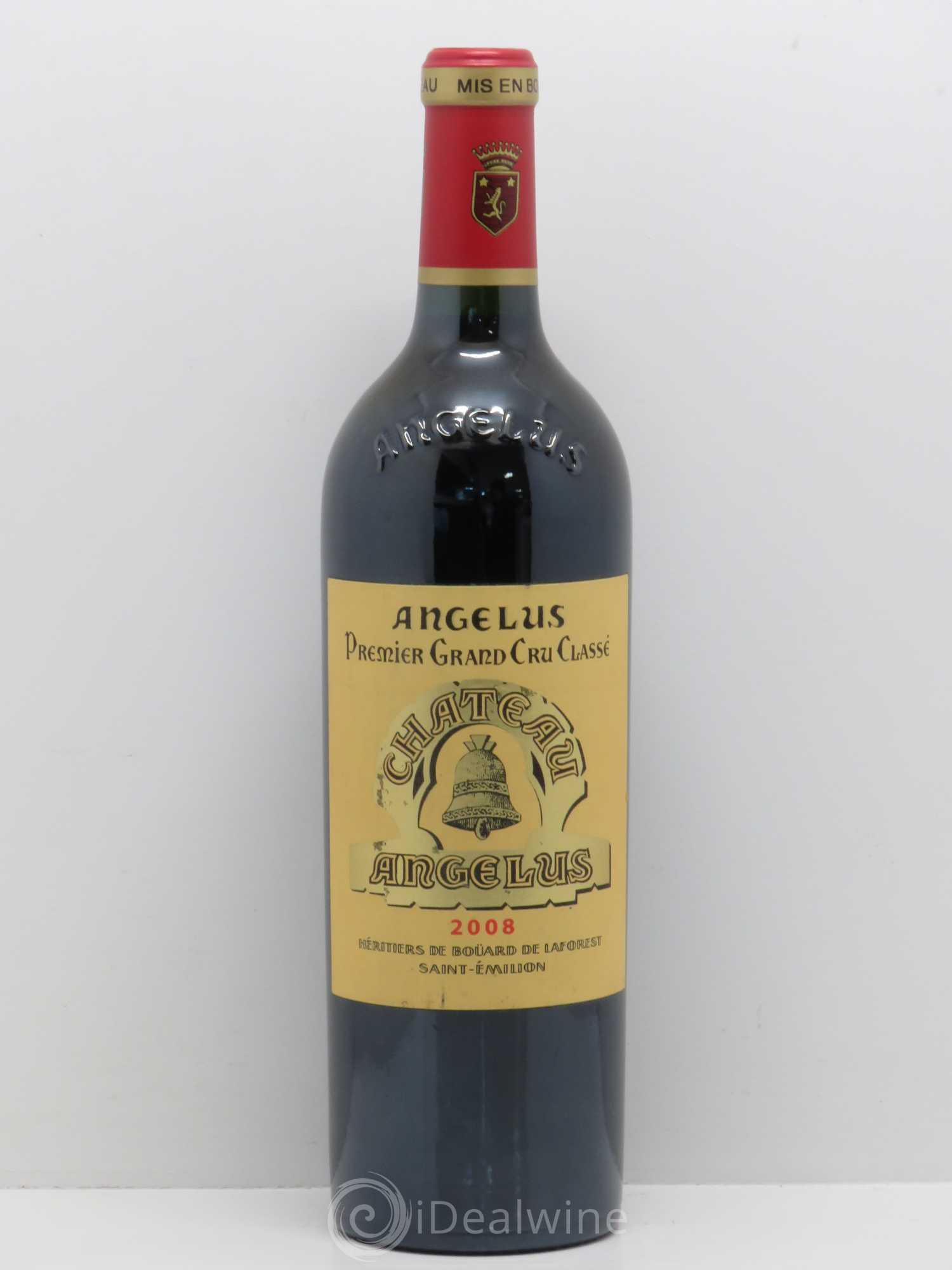 Buy ch teau ang lus 1er grand cru class a 2008 lot 14164 for Chateau angelus
