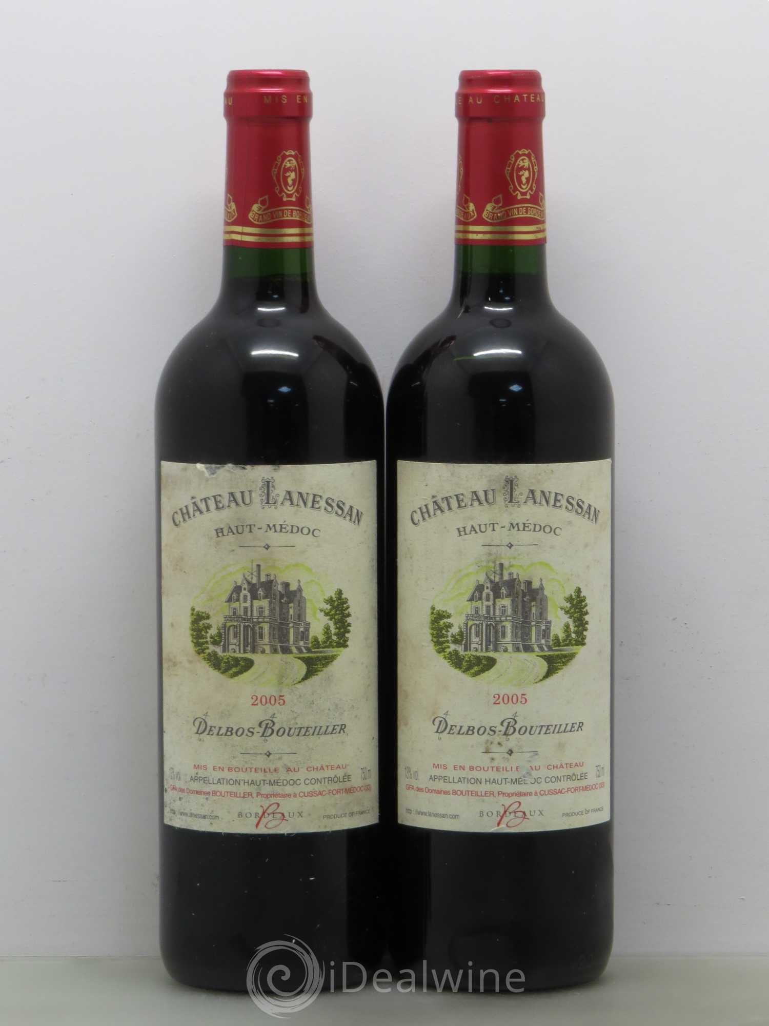 Acheter ch teau lanessan cru bourgeois 2005 lot 39 for Chateau lanessan