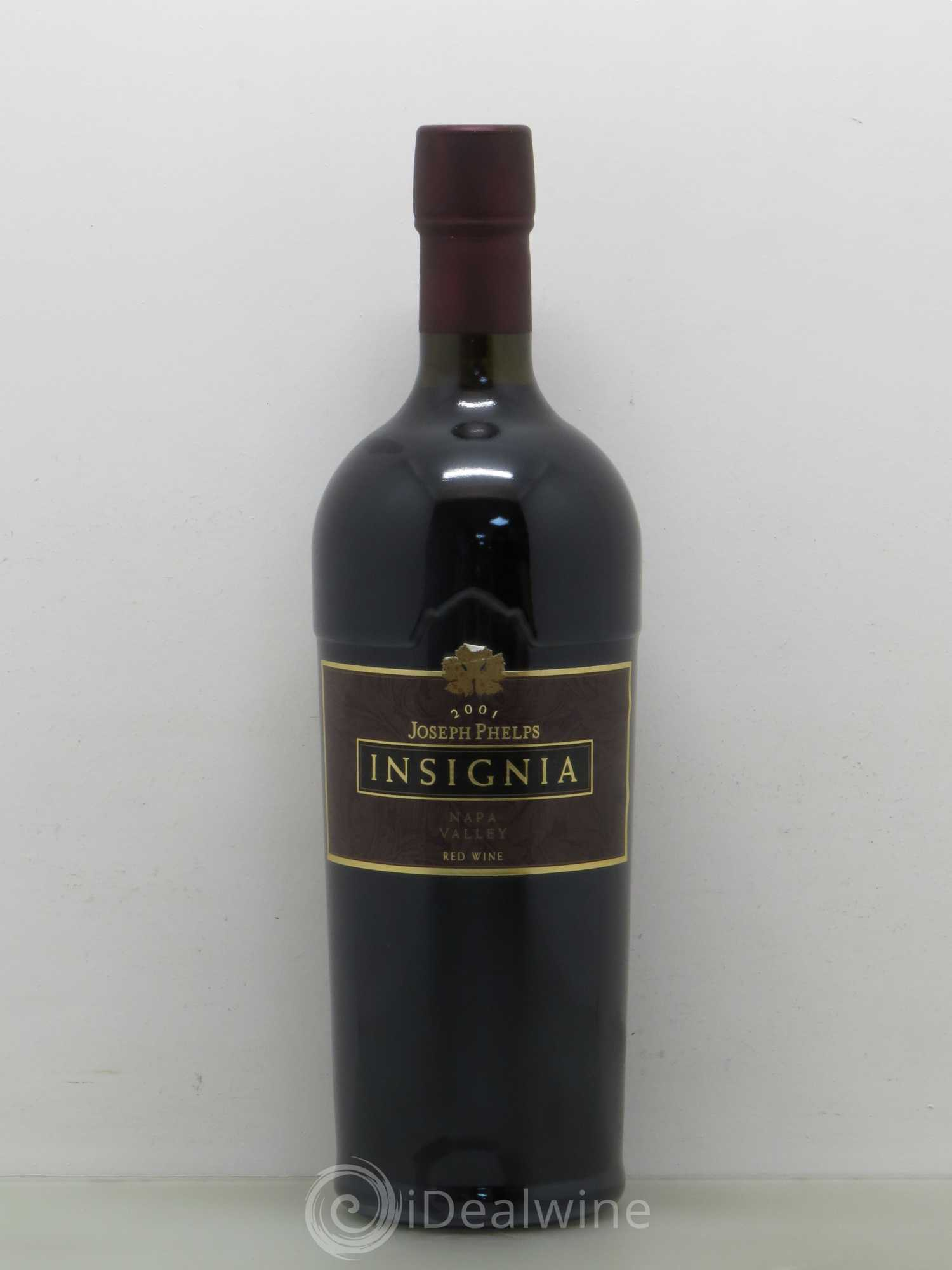 Santa-Helena Phelps - Insignia Joseph Phelps Vineyards  2001 - Lot de 1 Bouteille