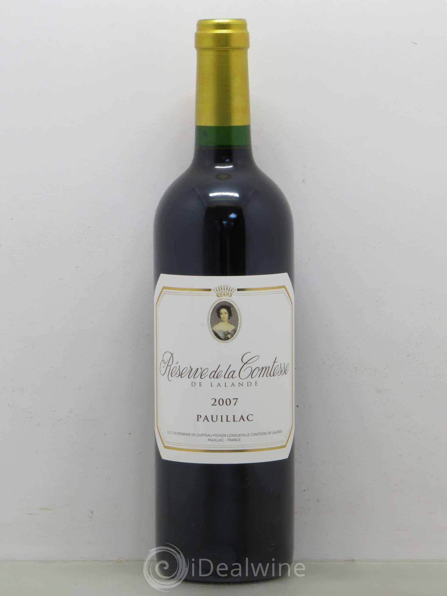 Réserve de la Comtesse Second Vin 2007