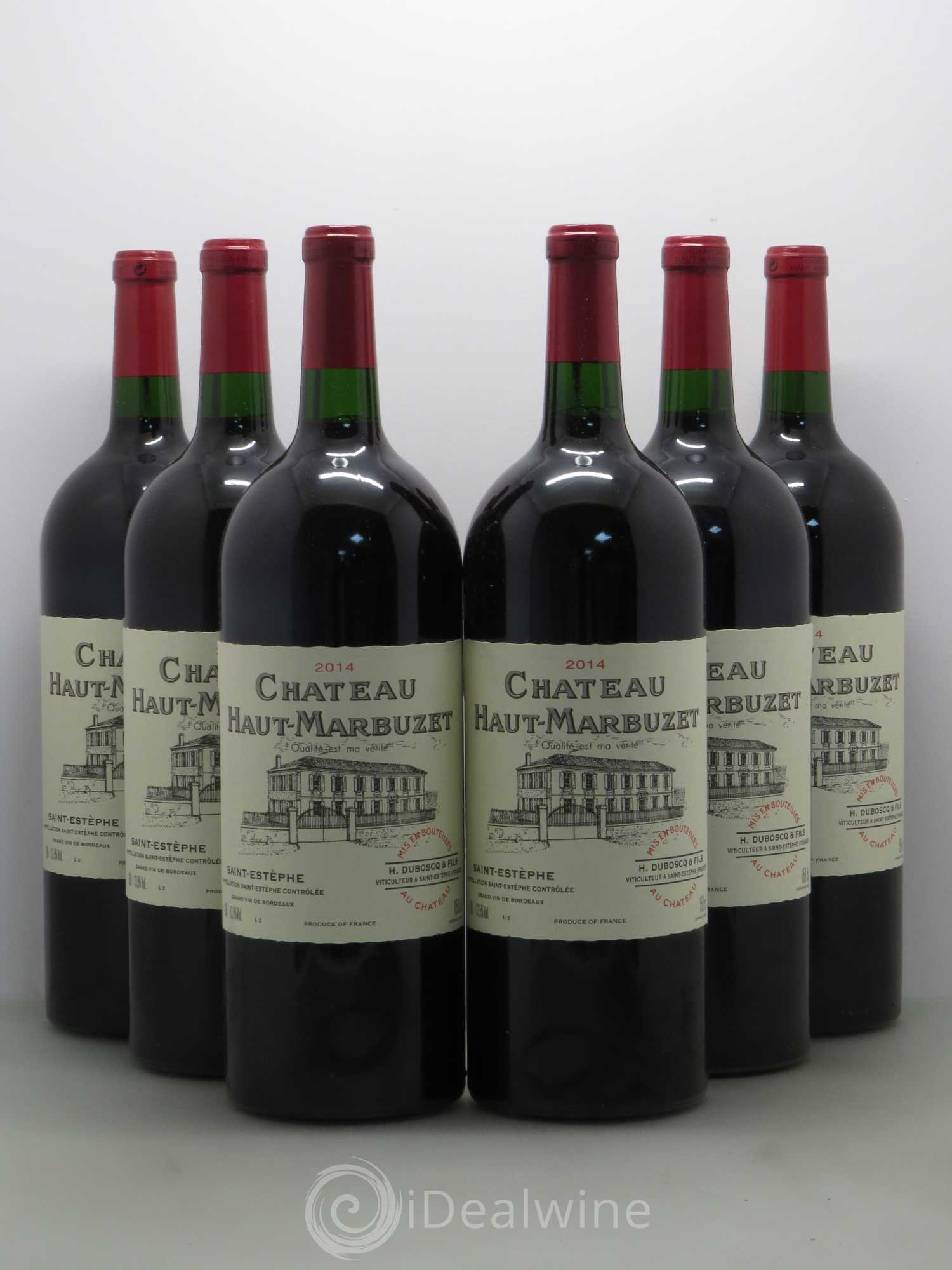 Buy ch teau haut marbuzet 2014 lot 6536 for Buy chateaubriand