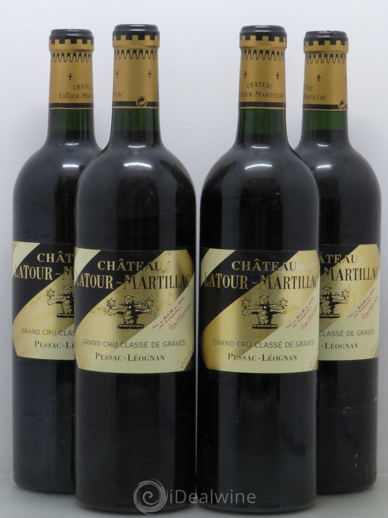 acheter ch teau latour martillac cru class de graves 2005 lot 13073. Black Bedroom Furniture Sets. Home Design Ideas