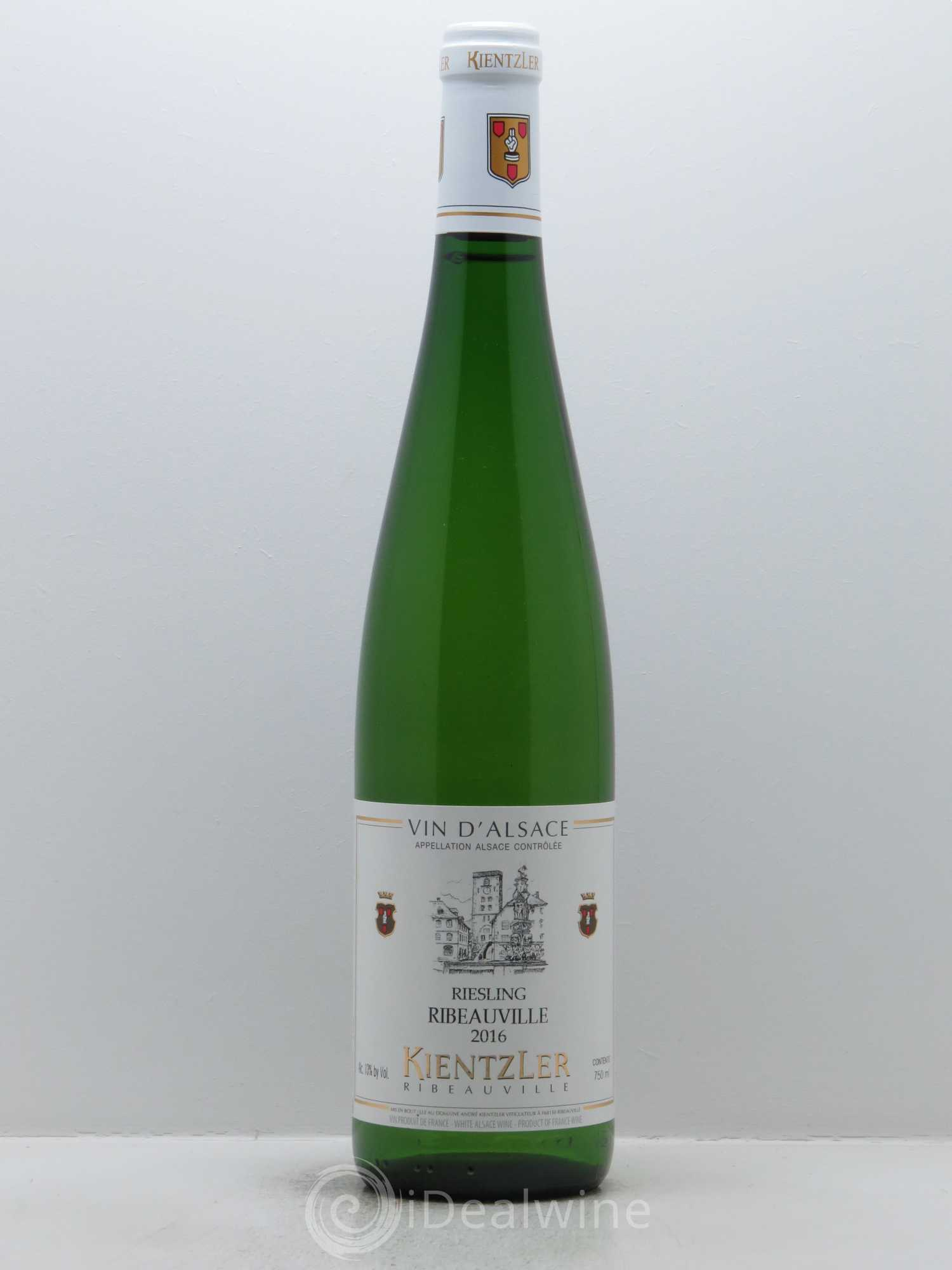 Riesling Ribeauvillé Kientzler  2016 - Lot of 1 Bottle