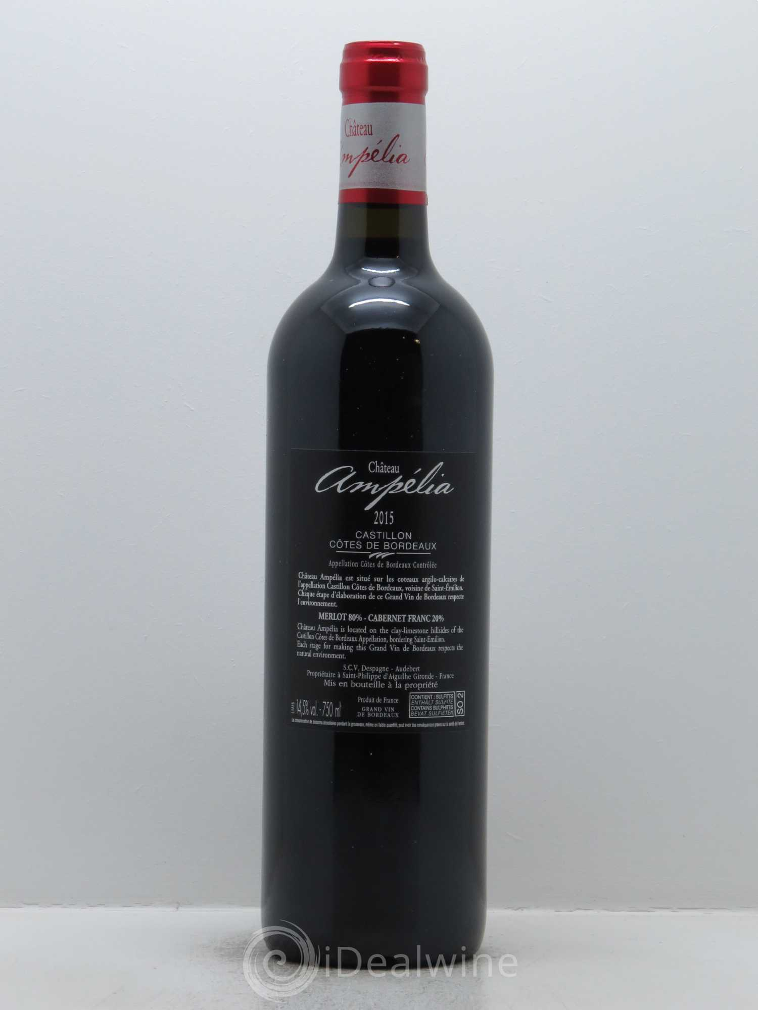 Buy ch teau amp lia 2015 lot 686 for Buy chateaubriand