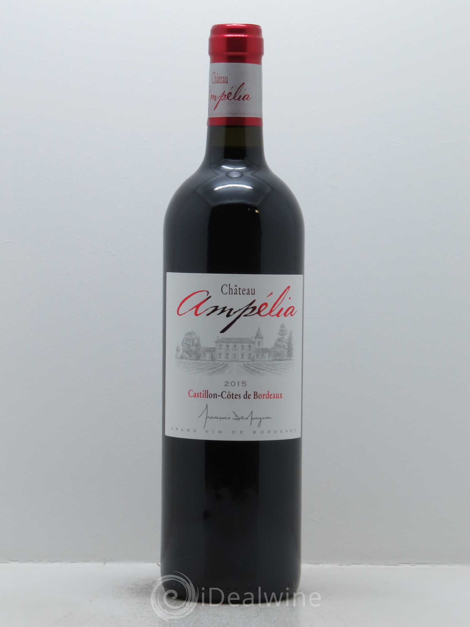 Château Ampélia  2015 - Lot of 1 Bottle