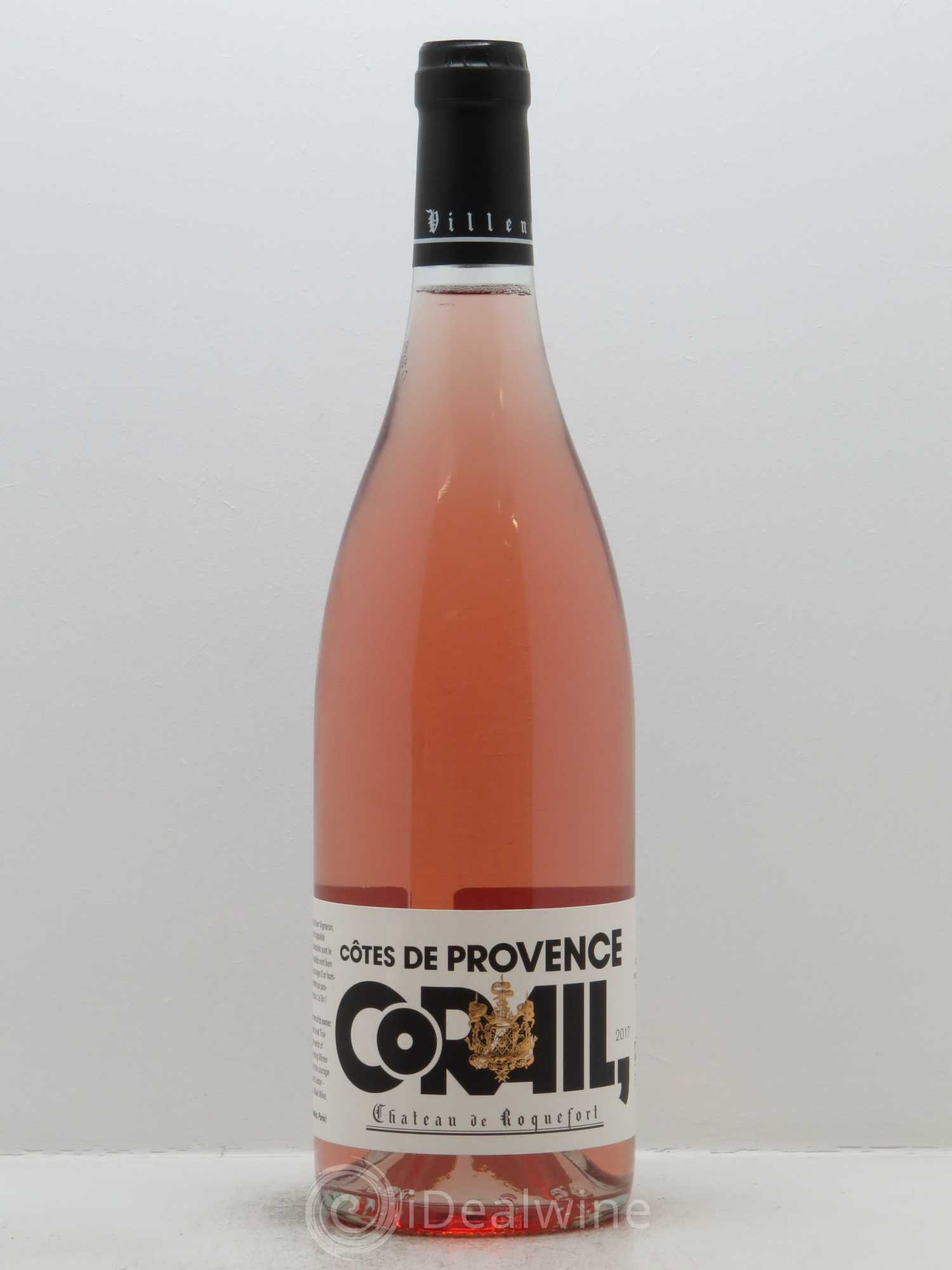 Côtes de Provence Château de Roquefort Corail  2017 - Lot of 1 Bottle