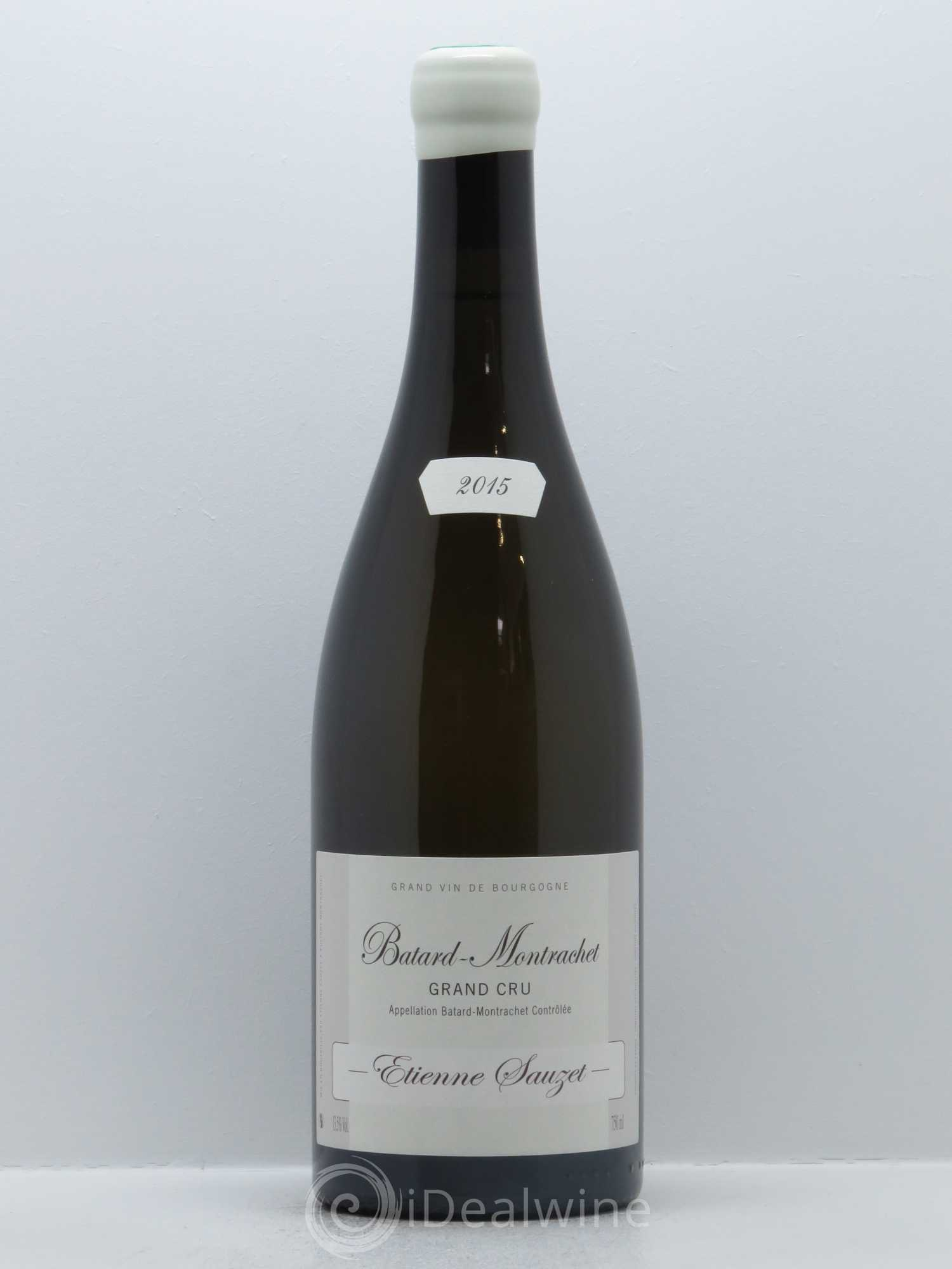 Bâtard-Montrachet Grand Cru Etienne Sauzet  2015 - Lot of 1 Bottle