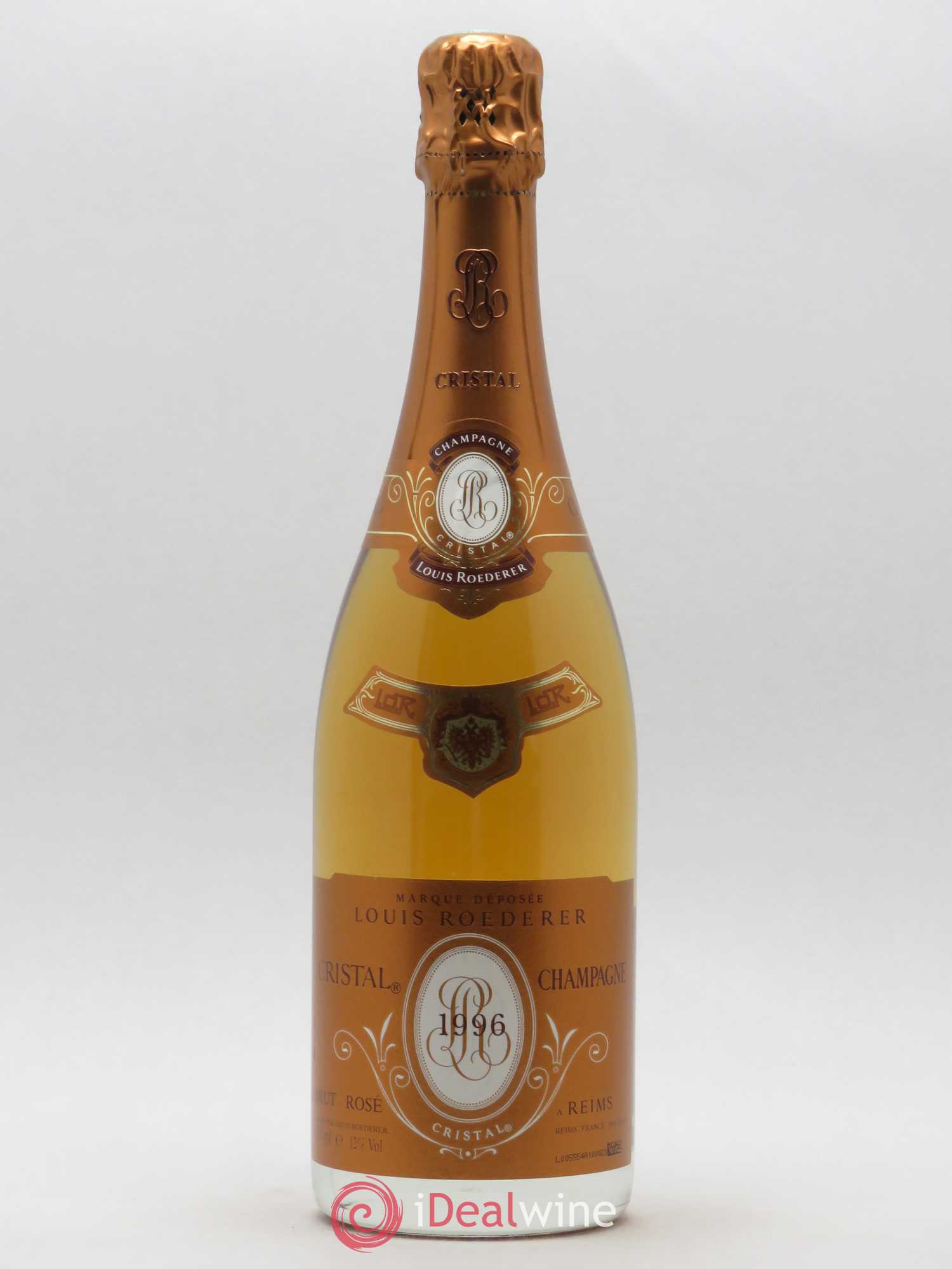 Cristal Louis Roederer  1996 - Lot of 1 Bottle