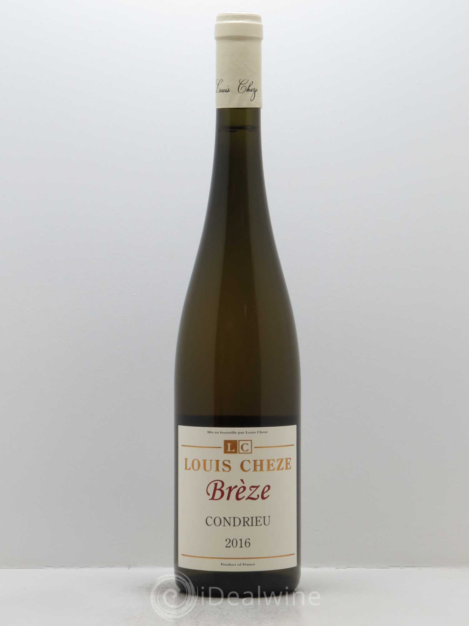 Condrieu Brèze Louis Cheze (Domaine)  2016 - Lot of 1 Bottle