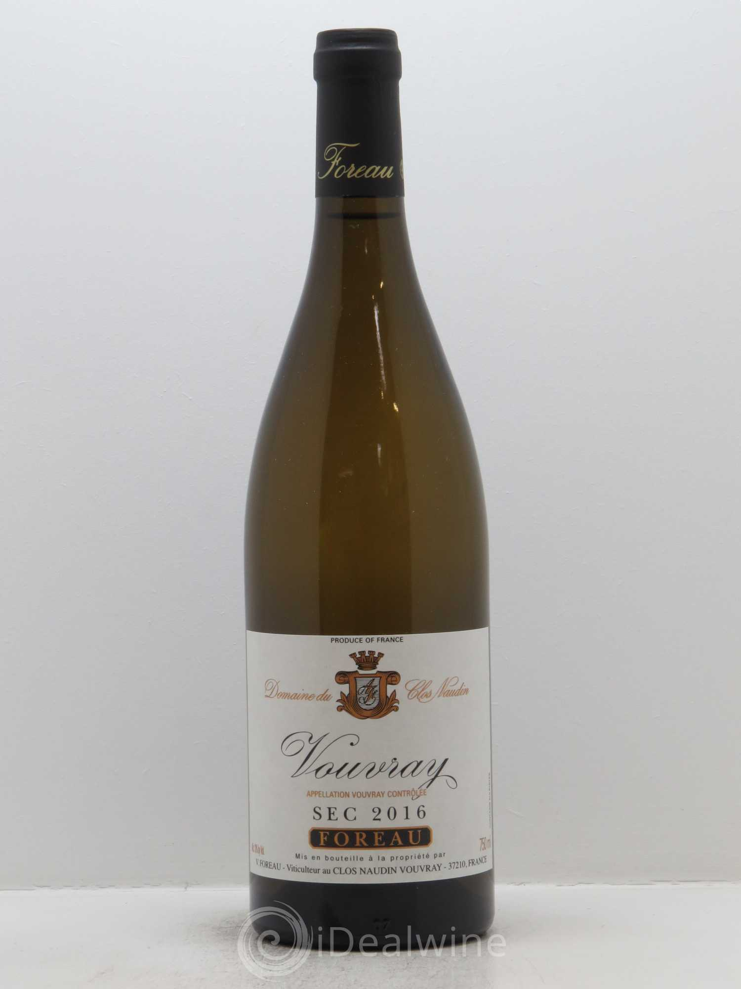 Vouvray Sec Clos Naudin - Philippe Foreau