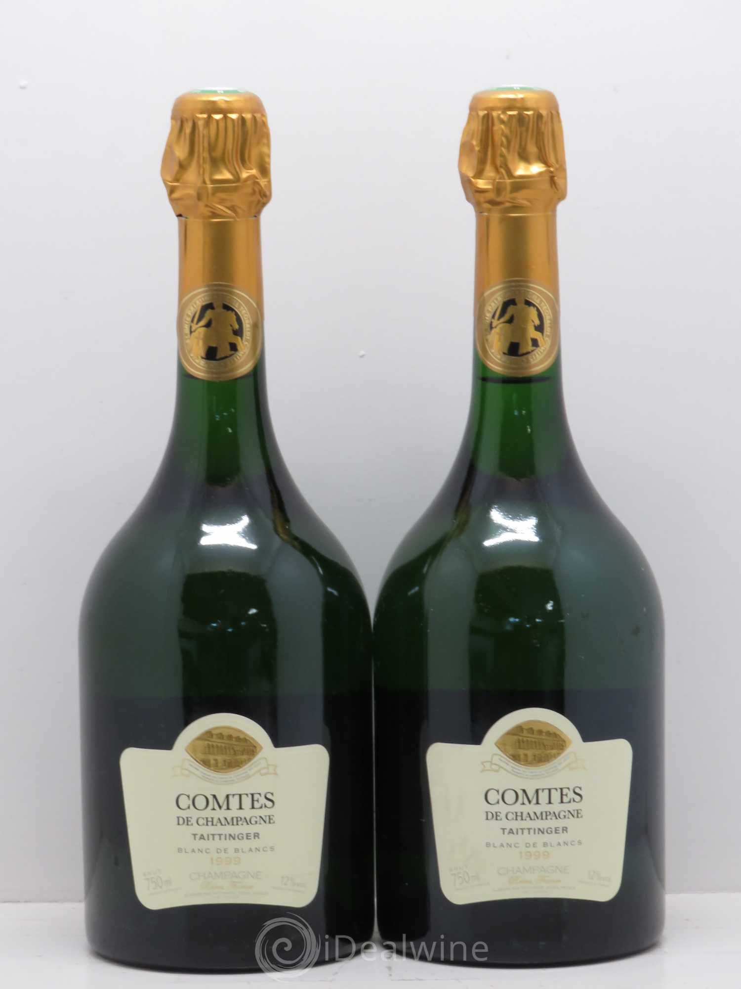 acheter comtes de champagne champagne taittinger 1999 lot 2059. Black Bedroom Furniture Sets. Home Design Ideas