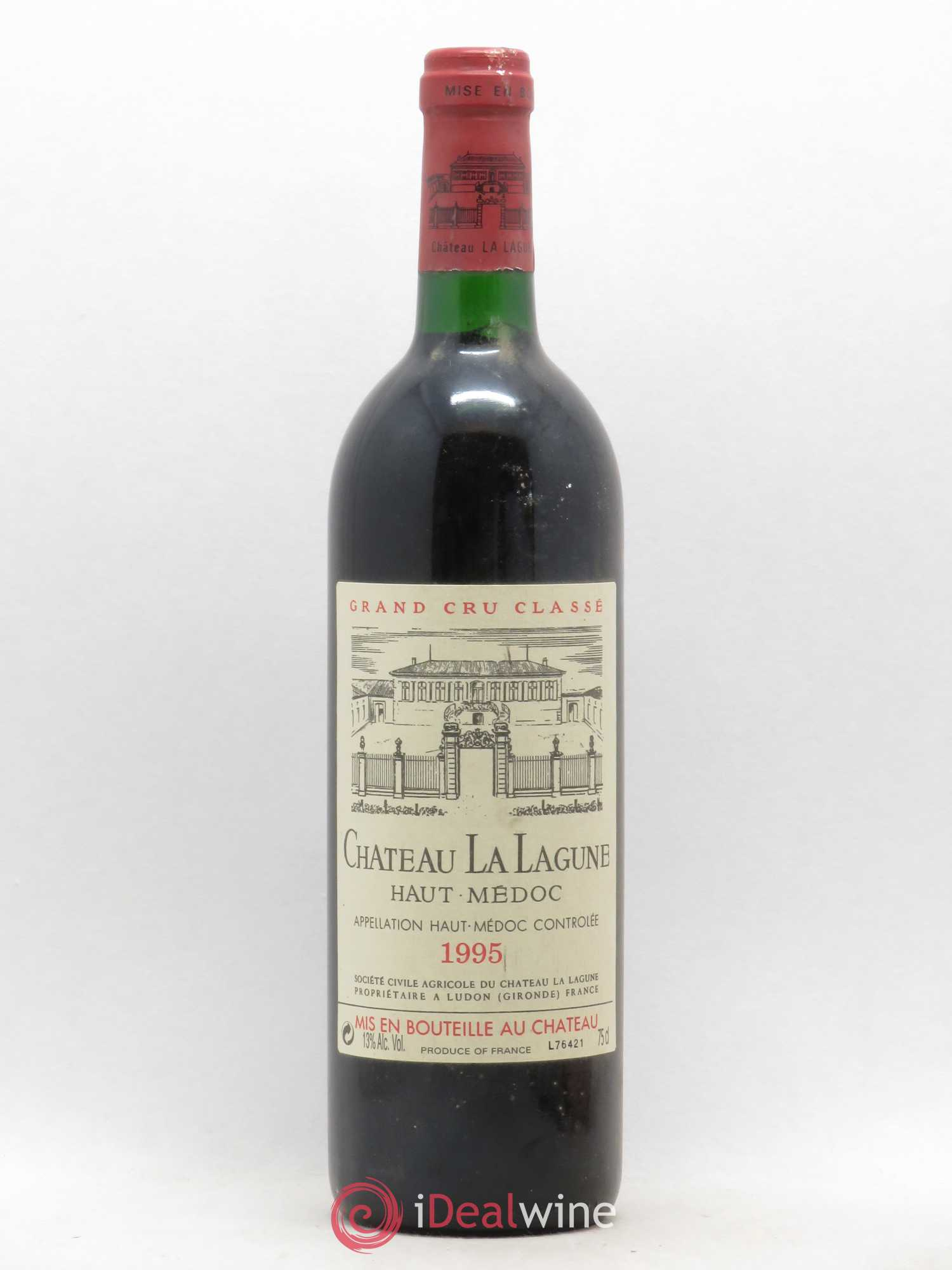 Château La Lagune 3ème Grand Cru Classé  1995 - Lot of 1 Bottle