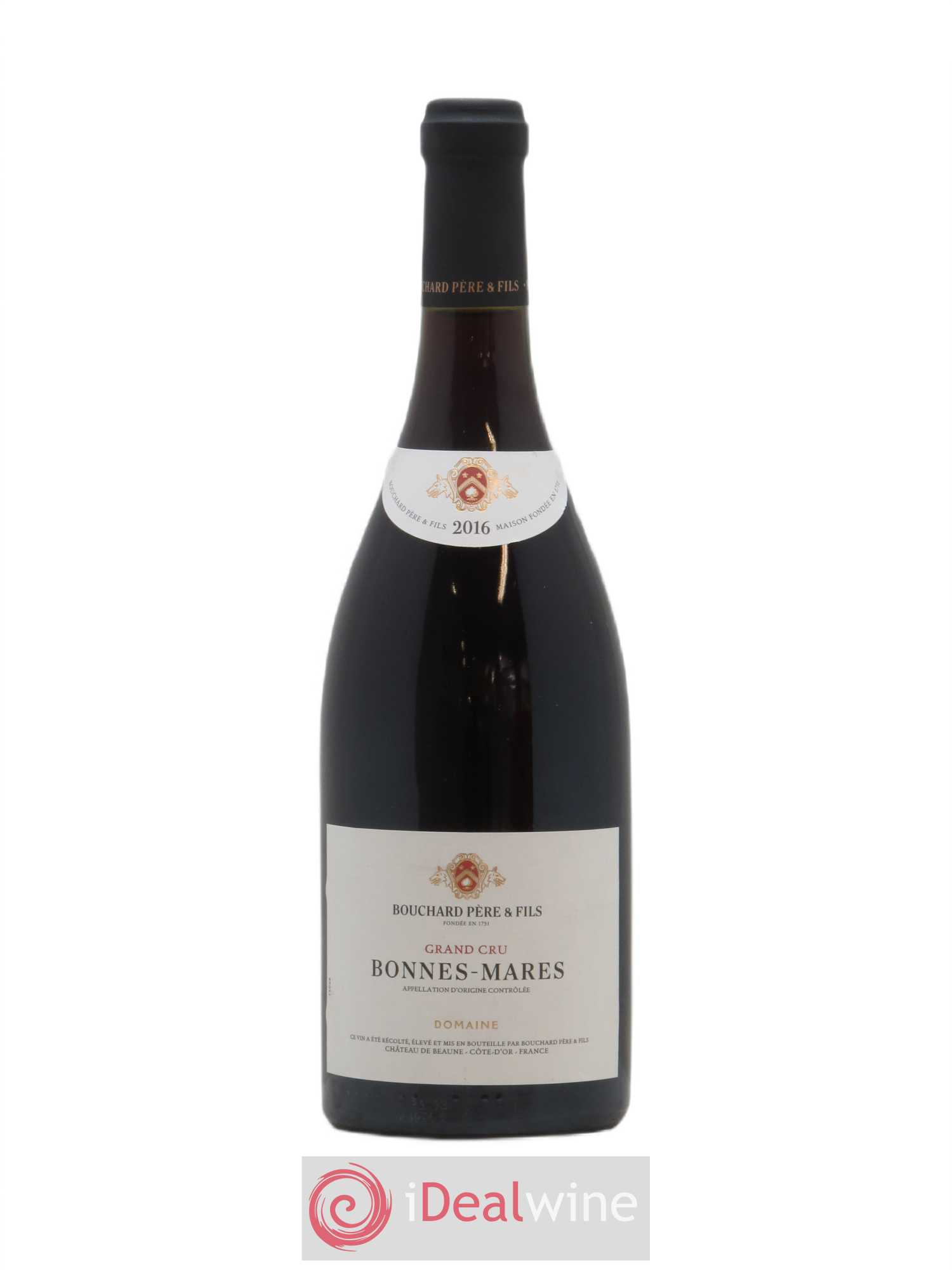 Bonnes-Mares Grand Cru Bouchard Père & Fils  2016 - Lot of 1 Bottle