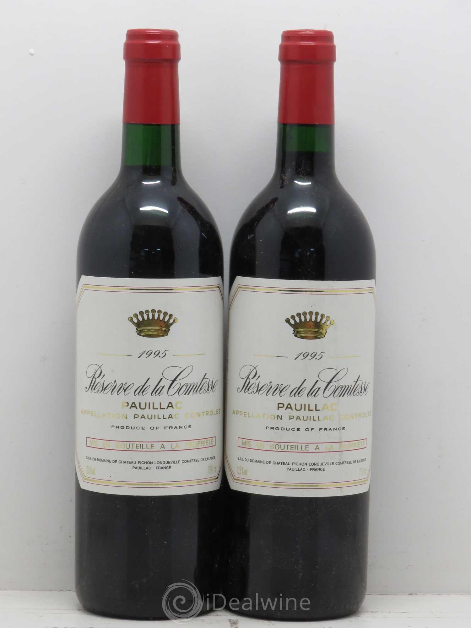 Réserve de la Comtesse Second Vin 1995