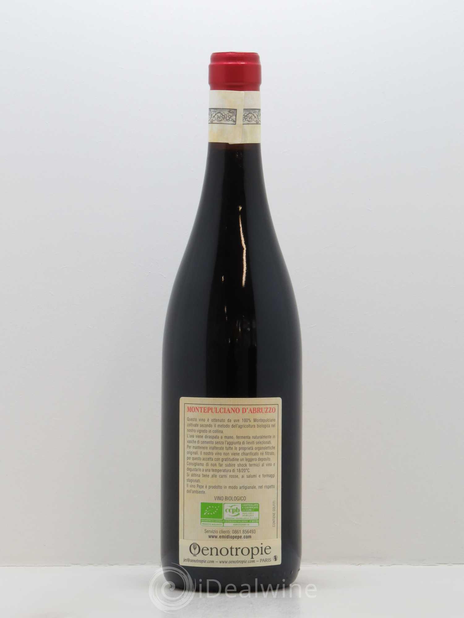 Acheter Une Maison En Italie Abruzzes montepulciano d'abruzzo doc emidio pepe 2014