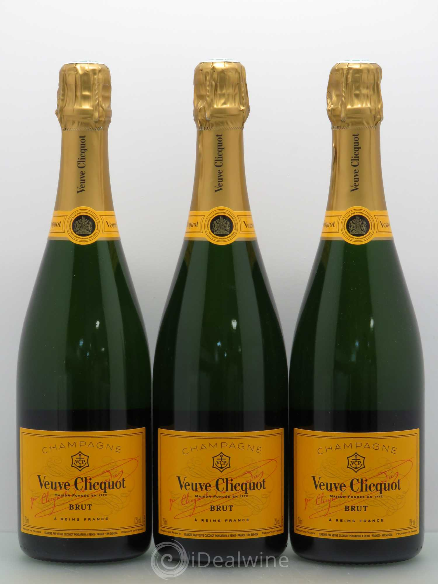 Pourquoi champagne veuve