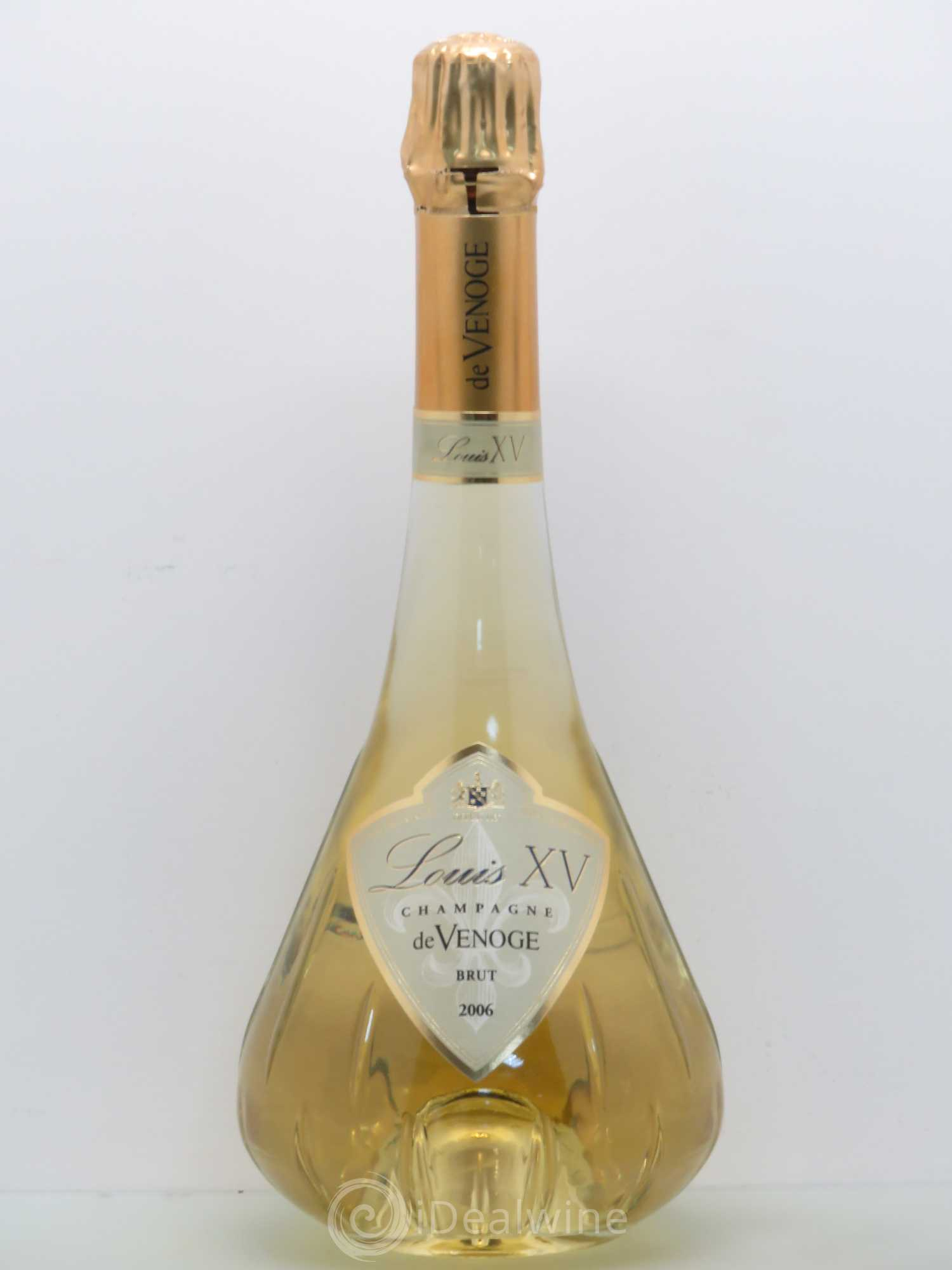 Buy Brut Champagne De Venoge Cuvée Louis XV 2006 (lot: 1636)