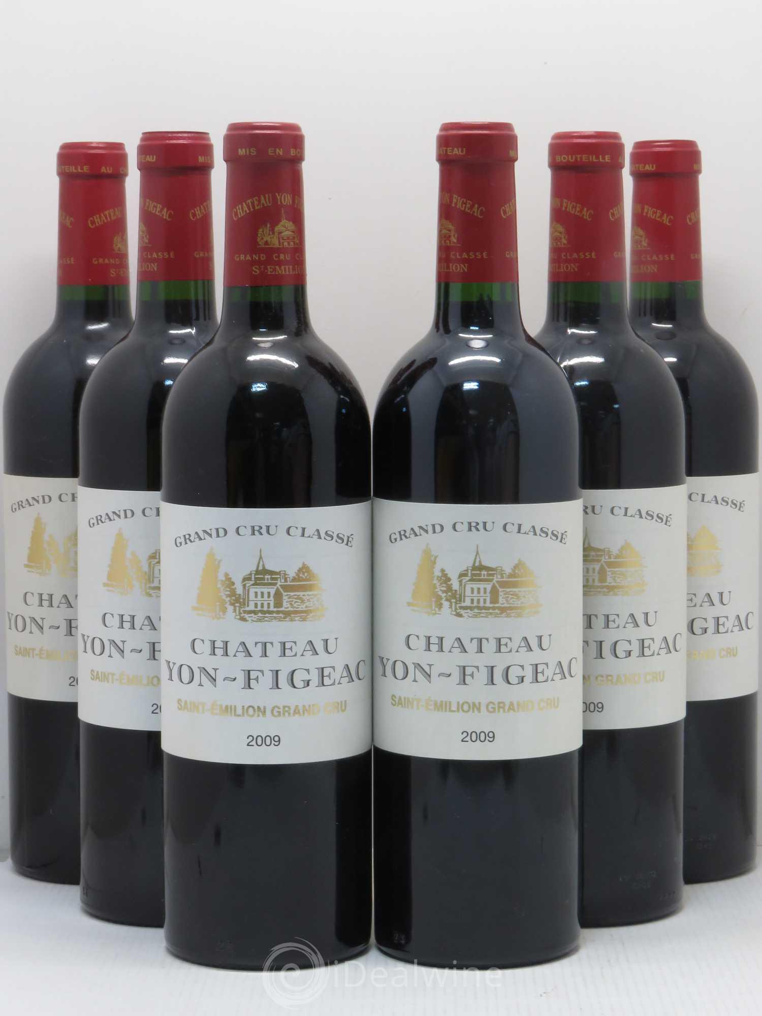 Kết quả hình ảnh cho st emilion grand cru chateau yon figeac 2015
