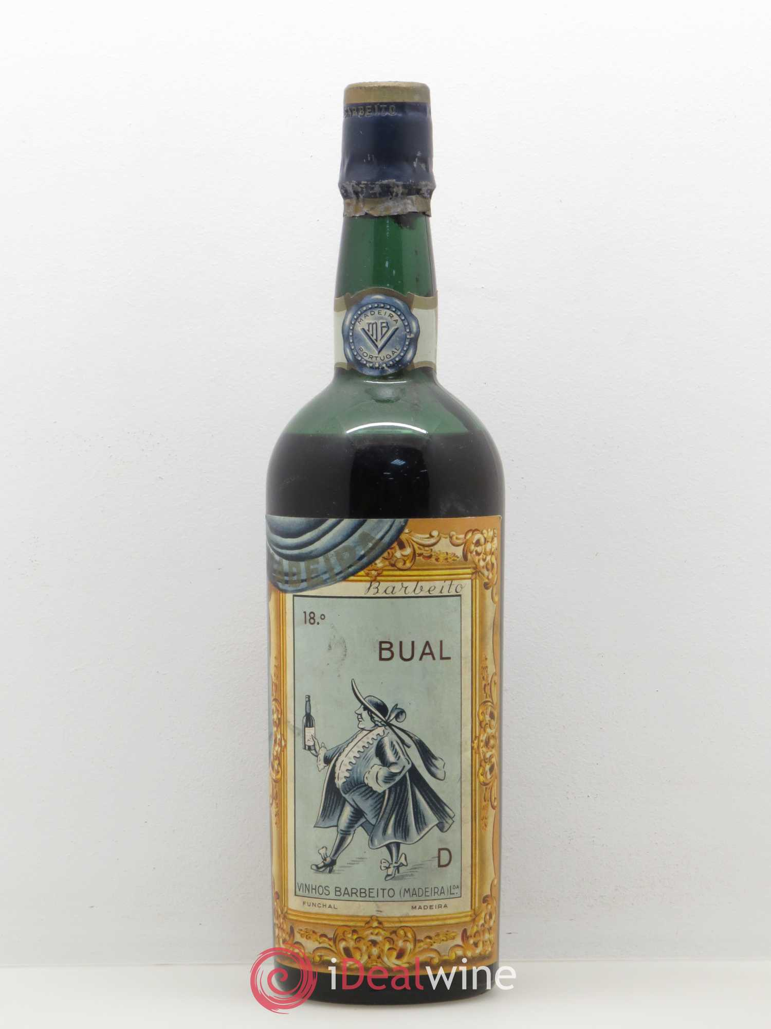 Portugal Madeira Barbeito Bual 1934 - Lot of 1 Bottle