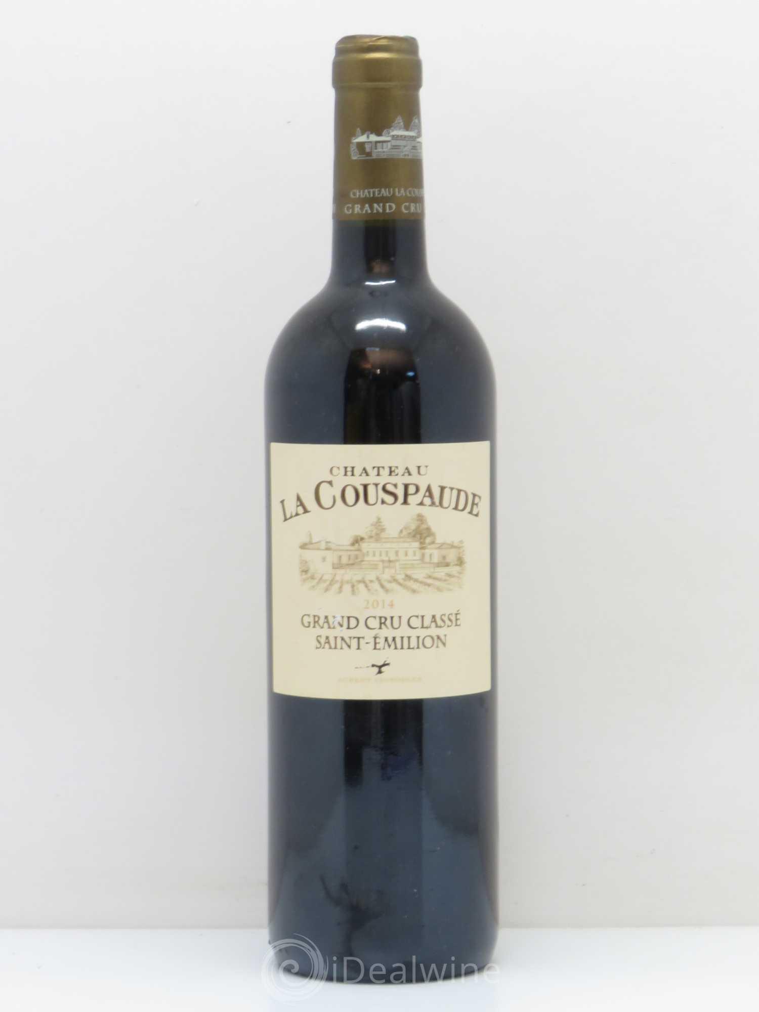 Buy Château la Couspaude Grand Cru Classé 2014 (lot: 11553)