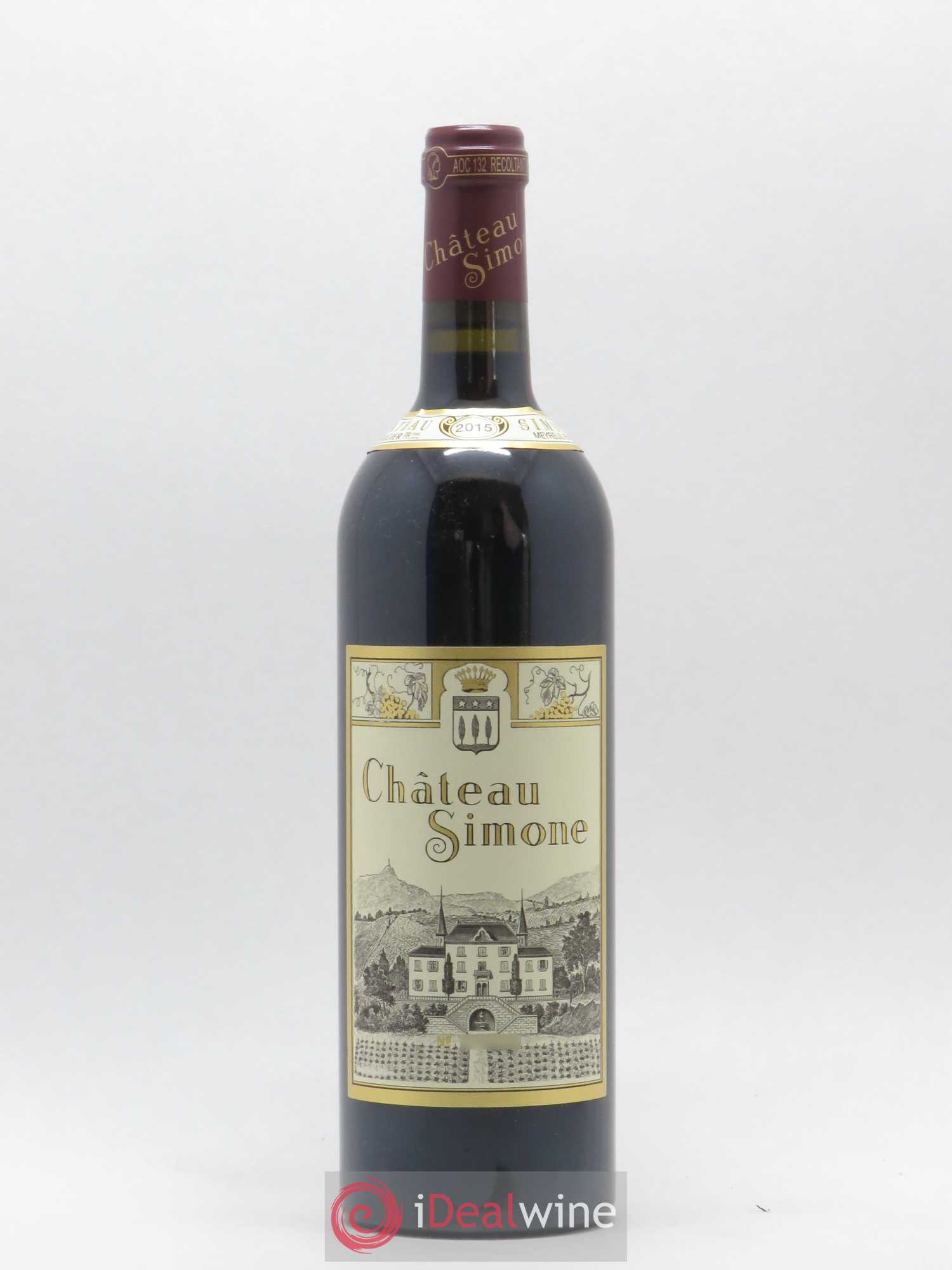 Palette Château Simone Famille Rougier  2015 - Lot of 1 Bottle