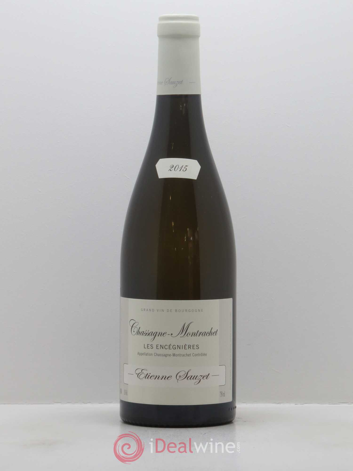 Chassagne-Montrachet Les Encéignères Etienne Sauzet  2015 - Lot of 1 Bottle