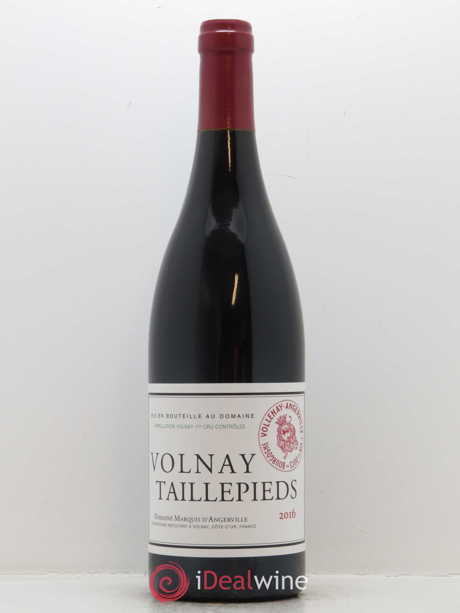 Volnay 1er Cru les Taillepieds Marquis d'Angerville (Domaine)