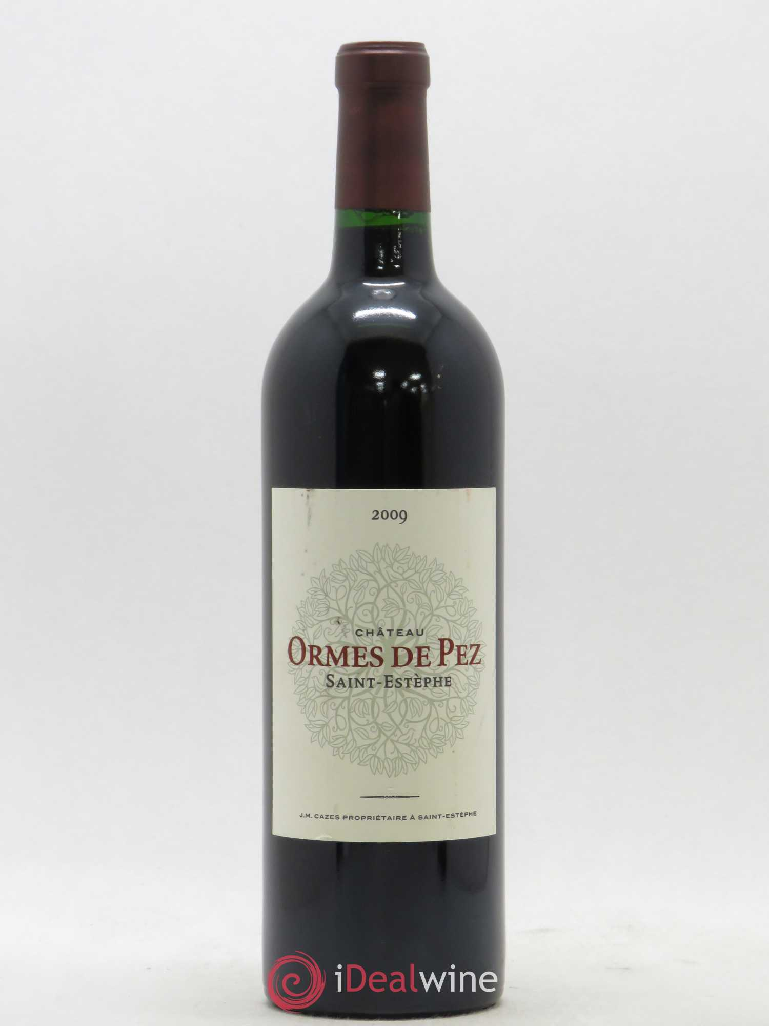 Château les Ormes de Pez  2009 - Lot of 1 Bottle