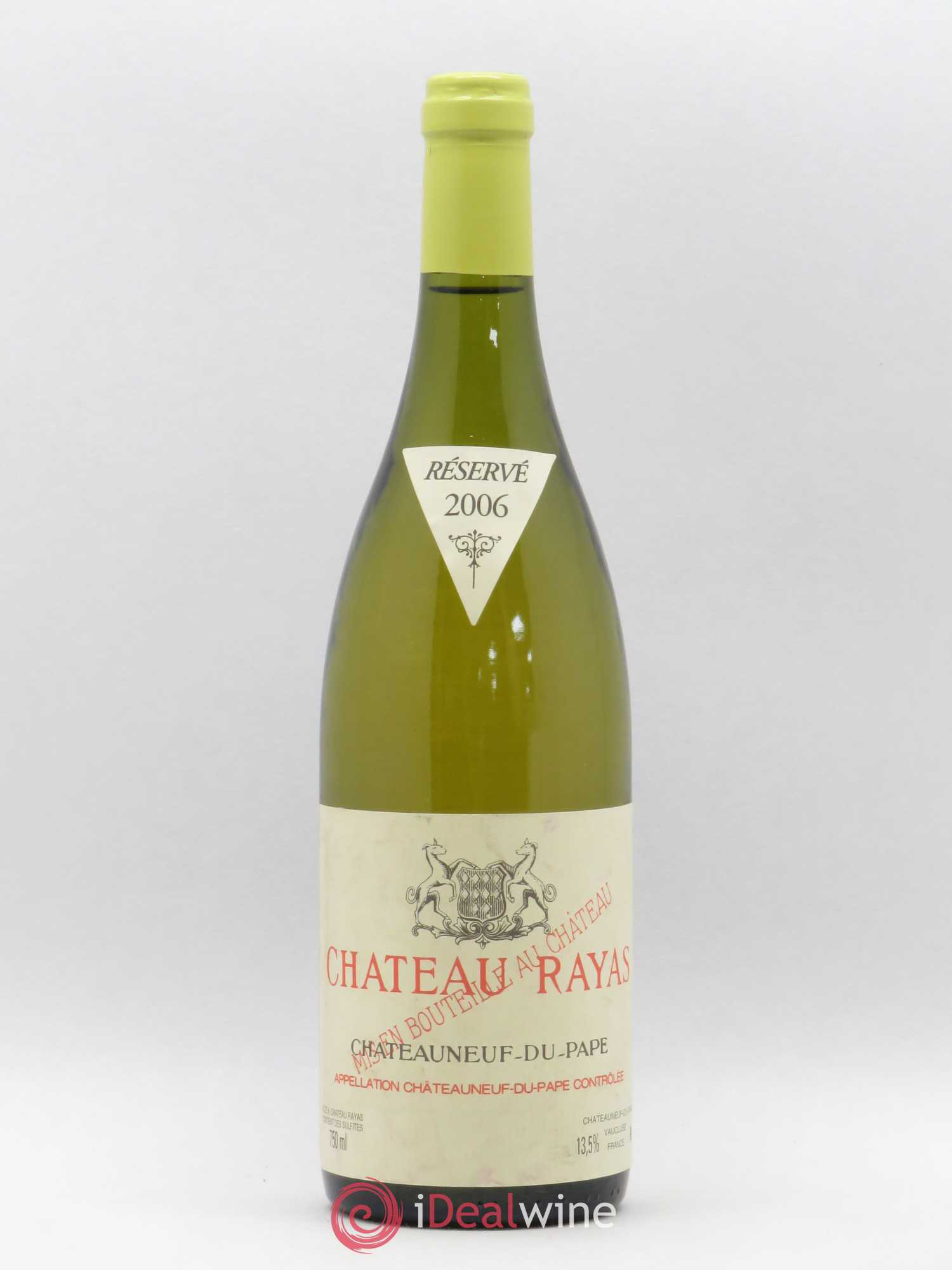 Châteauneuf-du-Pape Château Rayas Reynaud  2006 - Lot of 1 Bottle