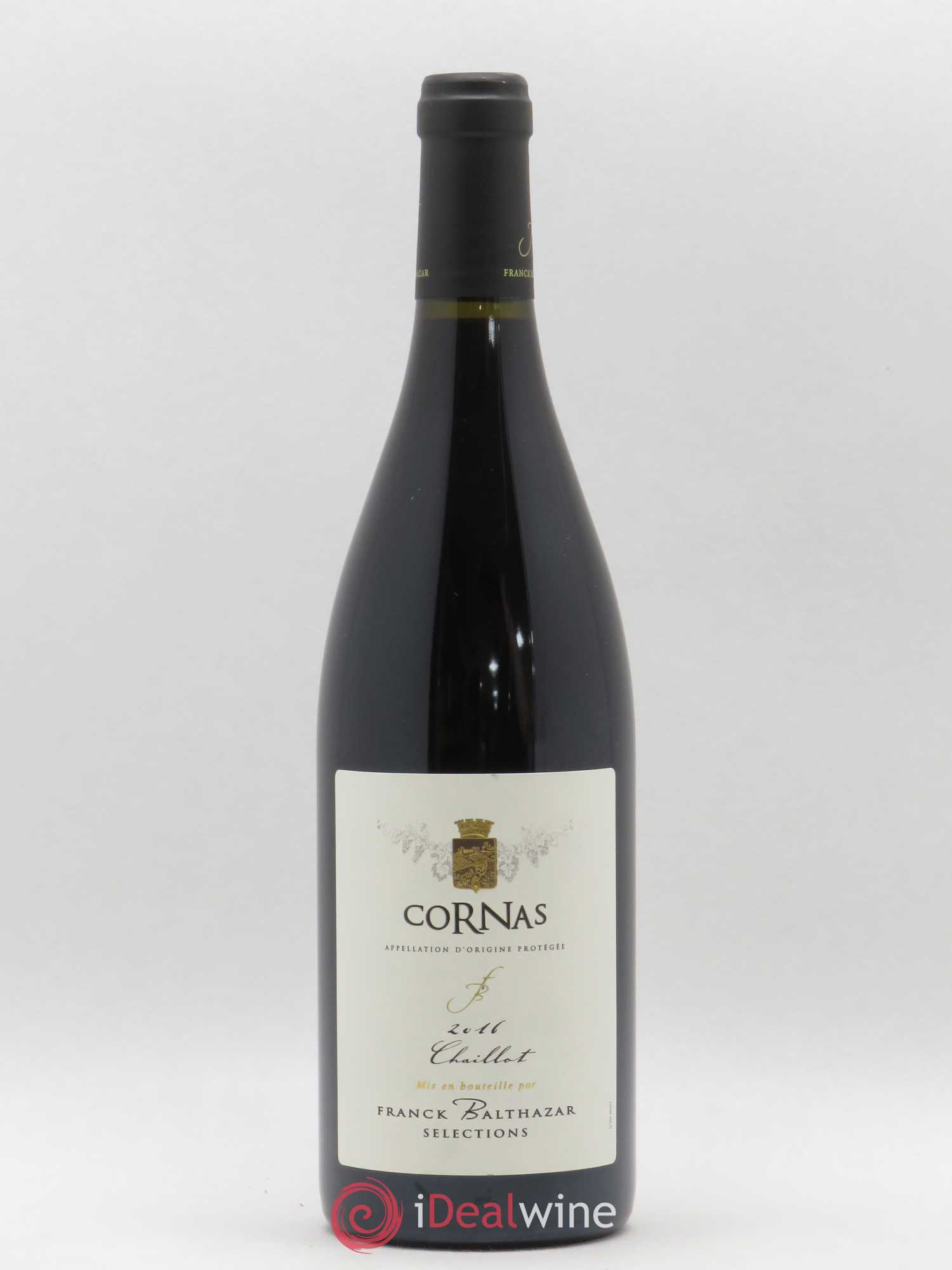 Cornas Chaillots Franck Balthazar (Domaine)  2016 - Lot of 1 Bottle
