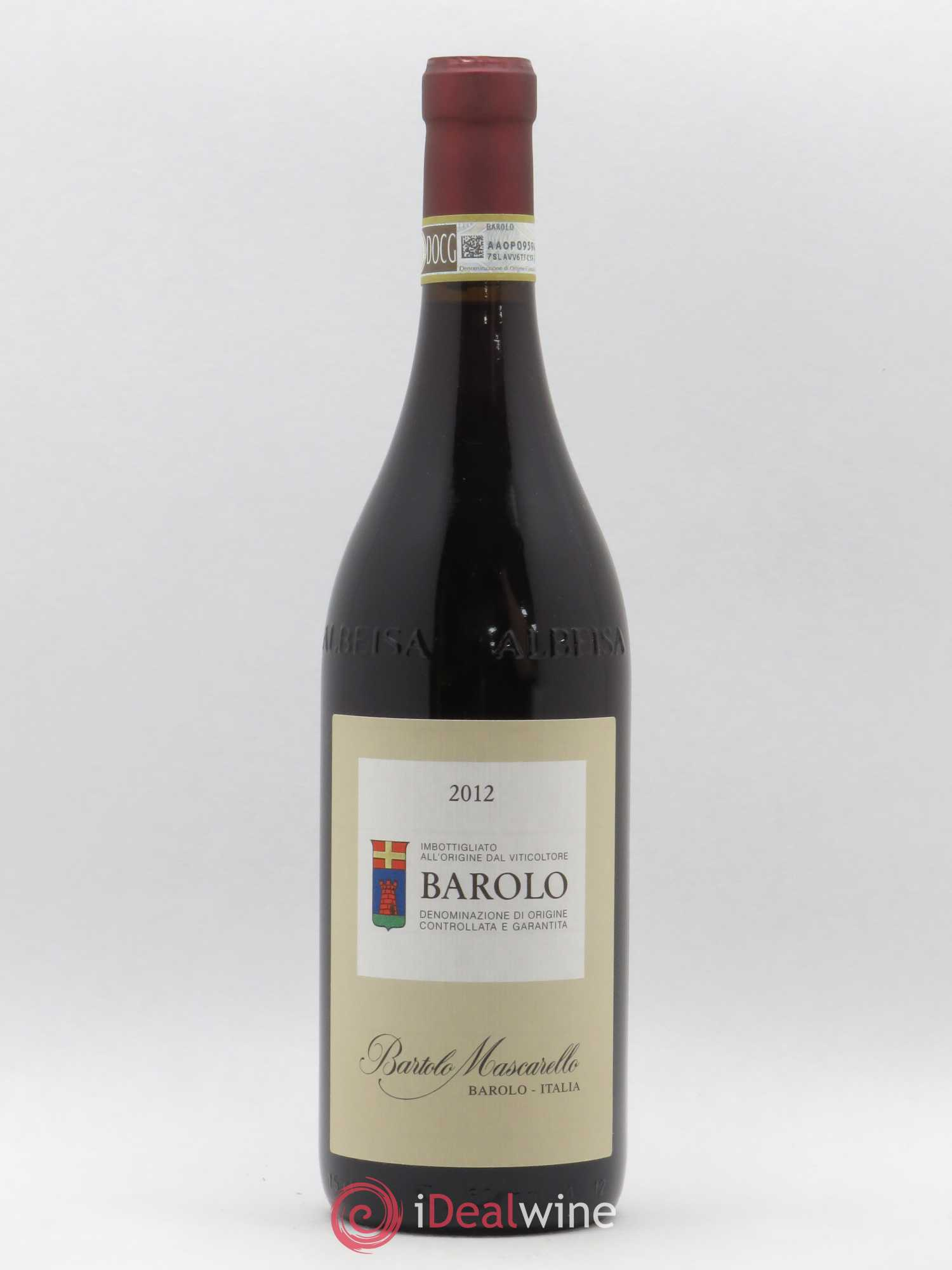 Barolo DOCG Mascarello Bartolo 2012 - Lot of 1 Bottle