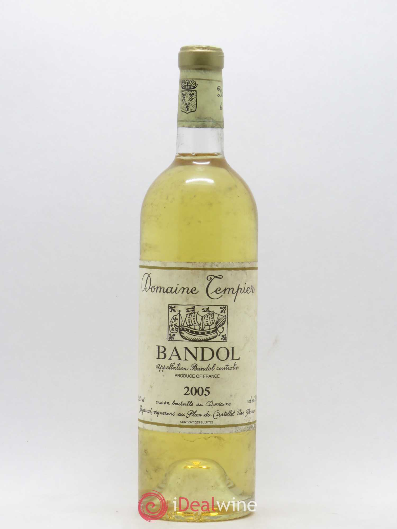 Bandol Domaine Tempier Famille Peyraud  2005 - Lot of 1 Bottle