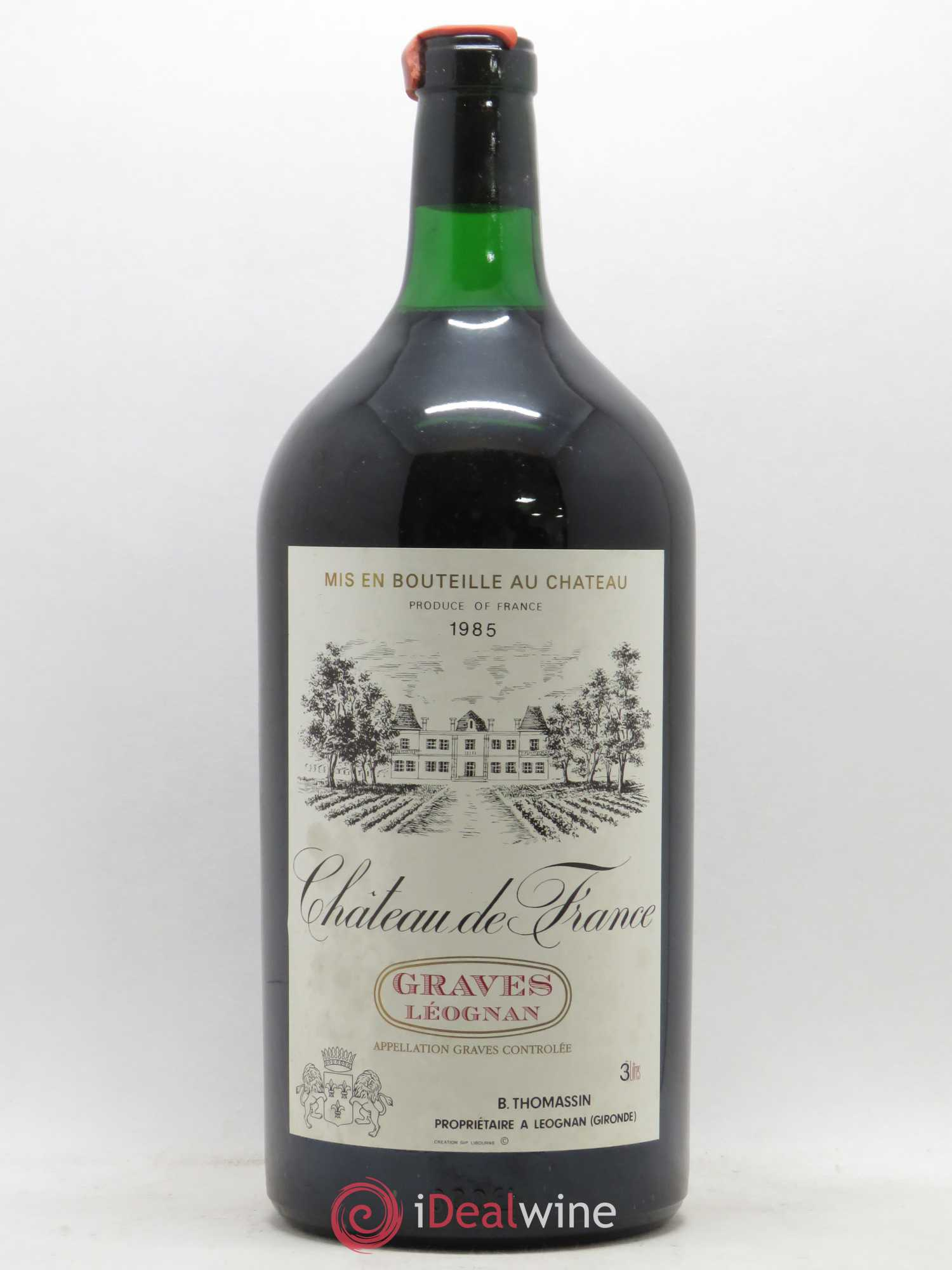 Château de France  1985 - Lot de 1 Double-magnum