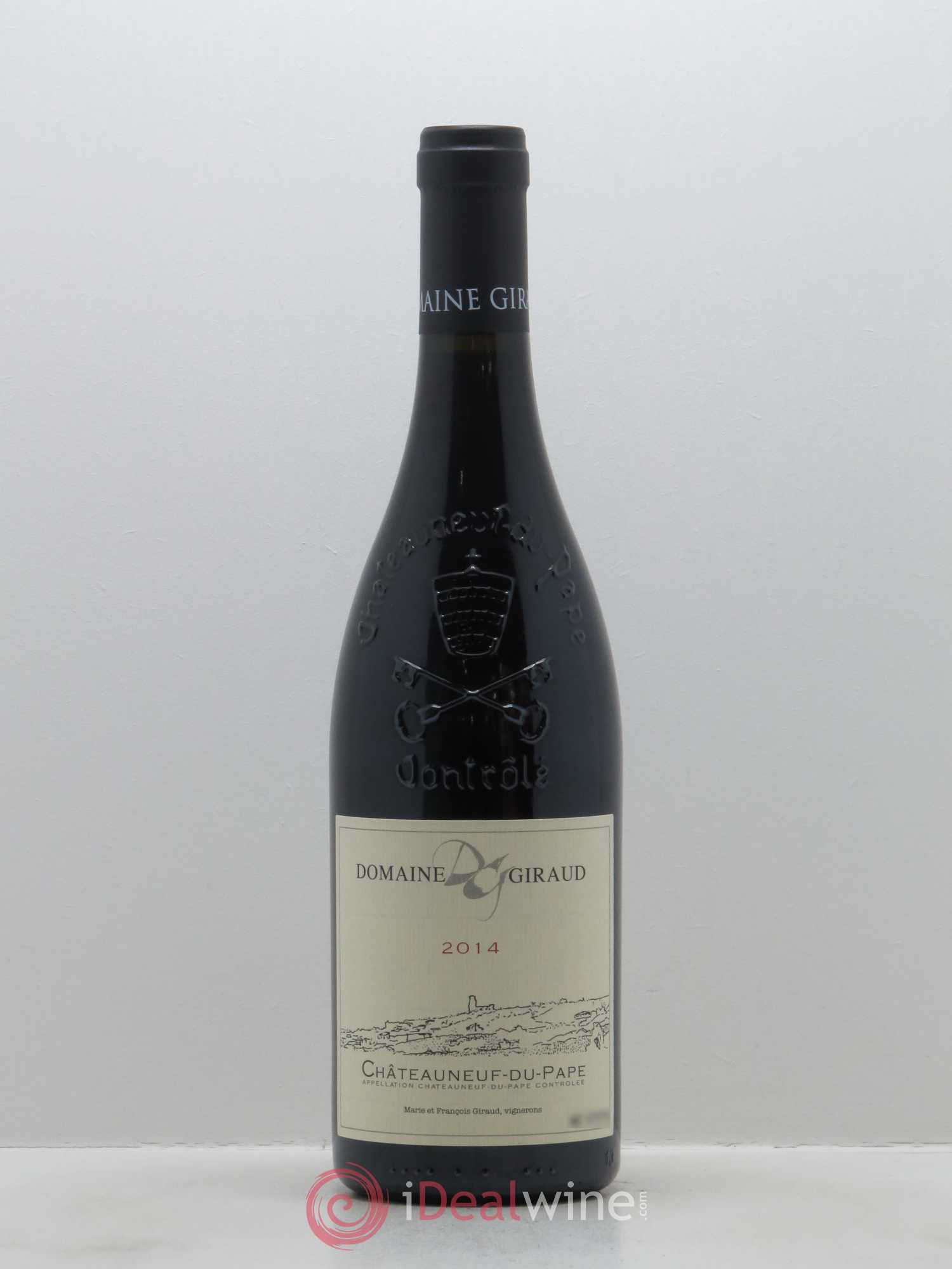 Châteauneuf-du-Pape Giraud (Domaine) Tradition  2014 - Lot of 1 Bottle