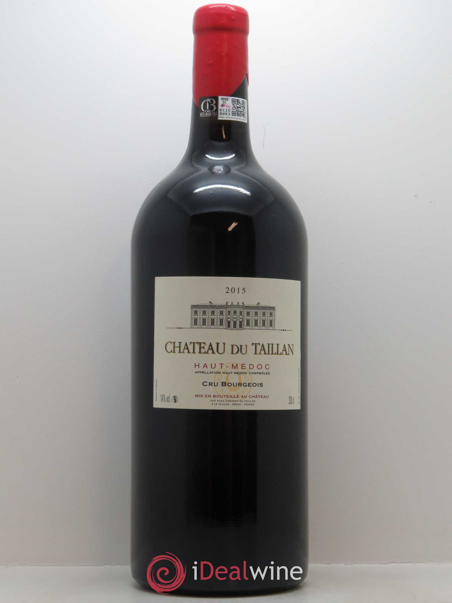 Château du Taillan Cru Bourgeois  2015 - Lot of 1 Double-magnum