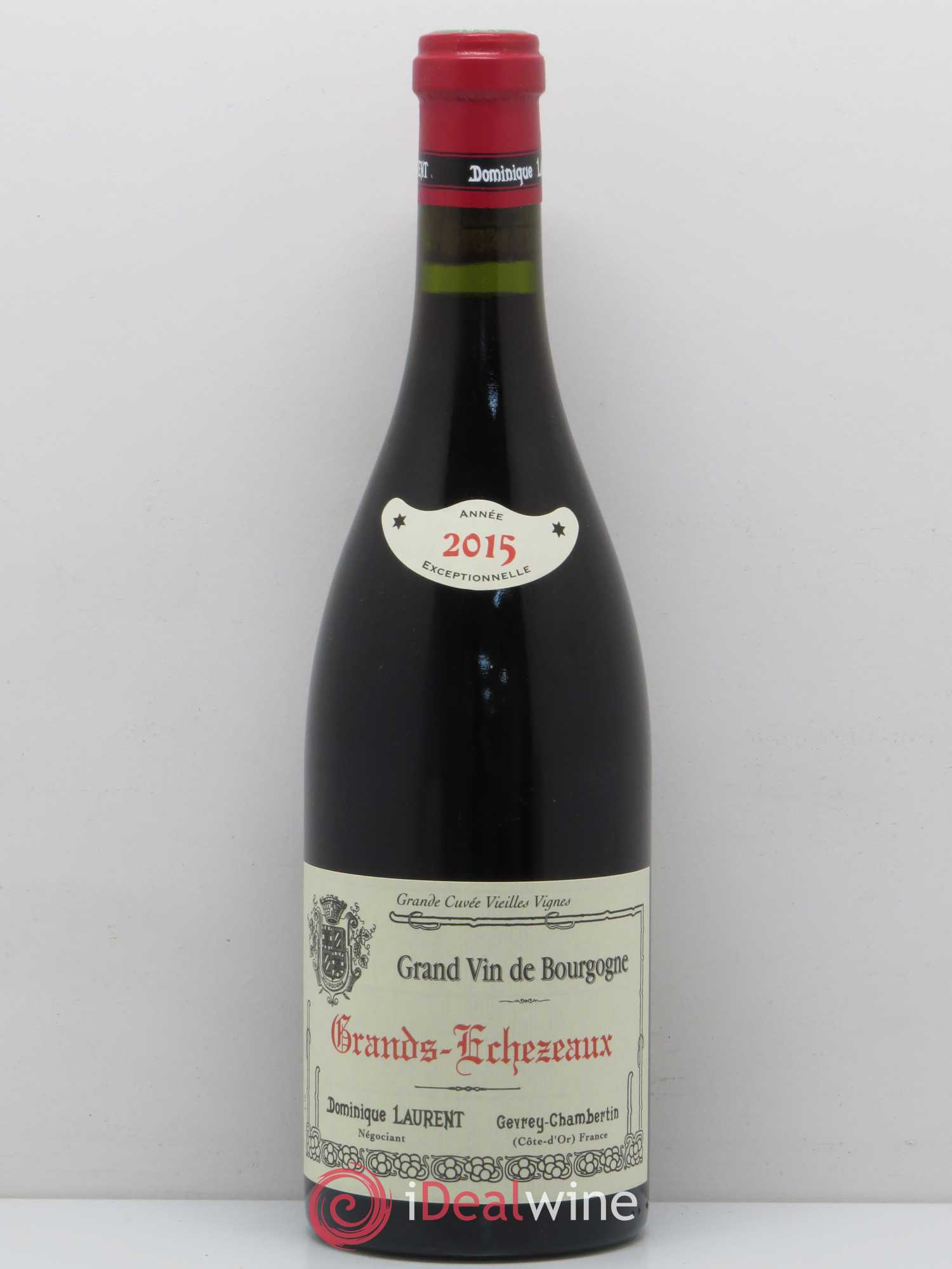 Grands-Echézeaux Grand Cru Dominique Laurent  2015 - Lot of 1 Bottle