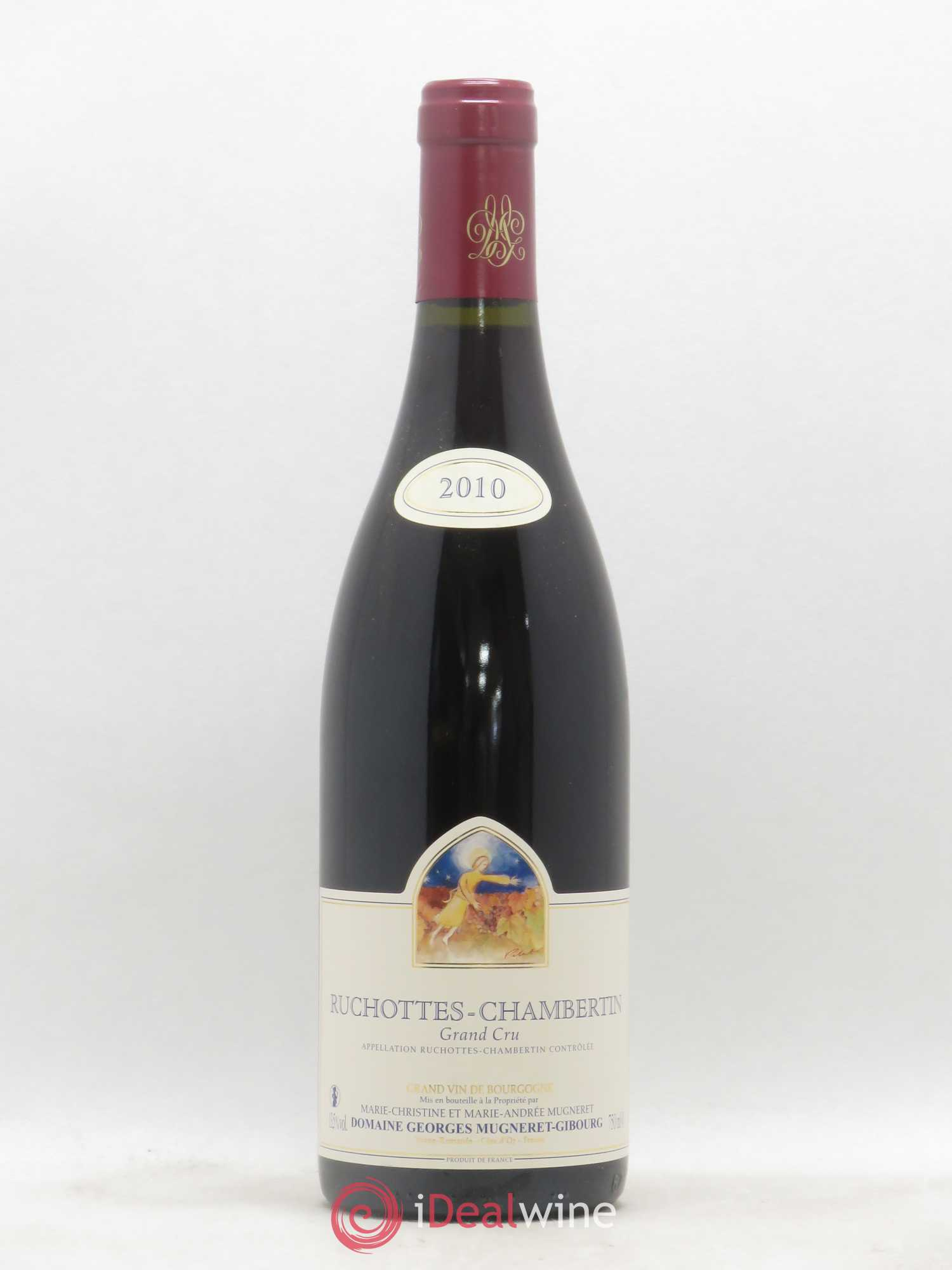 Ruchottes-Chambertin Grand Cru Mugneret-Gibourg (Domaine)  2010 - Lot of 1 Bottle