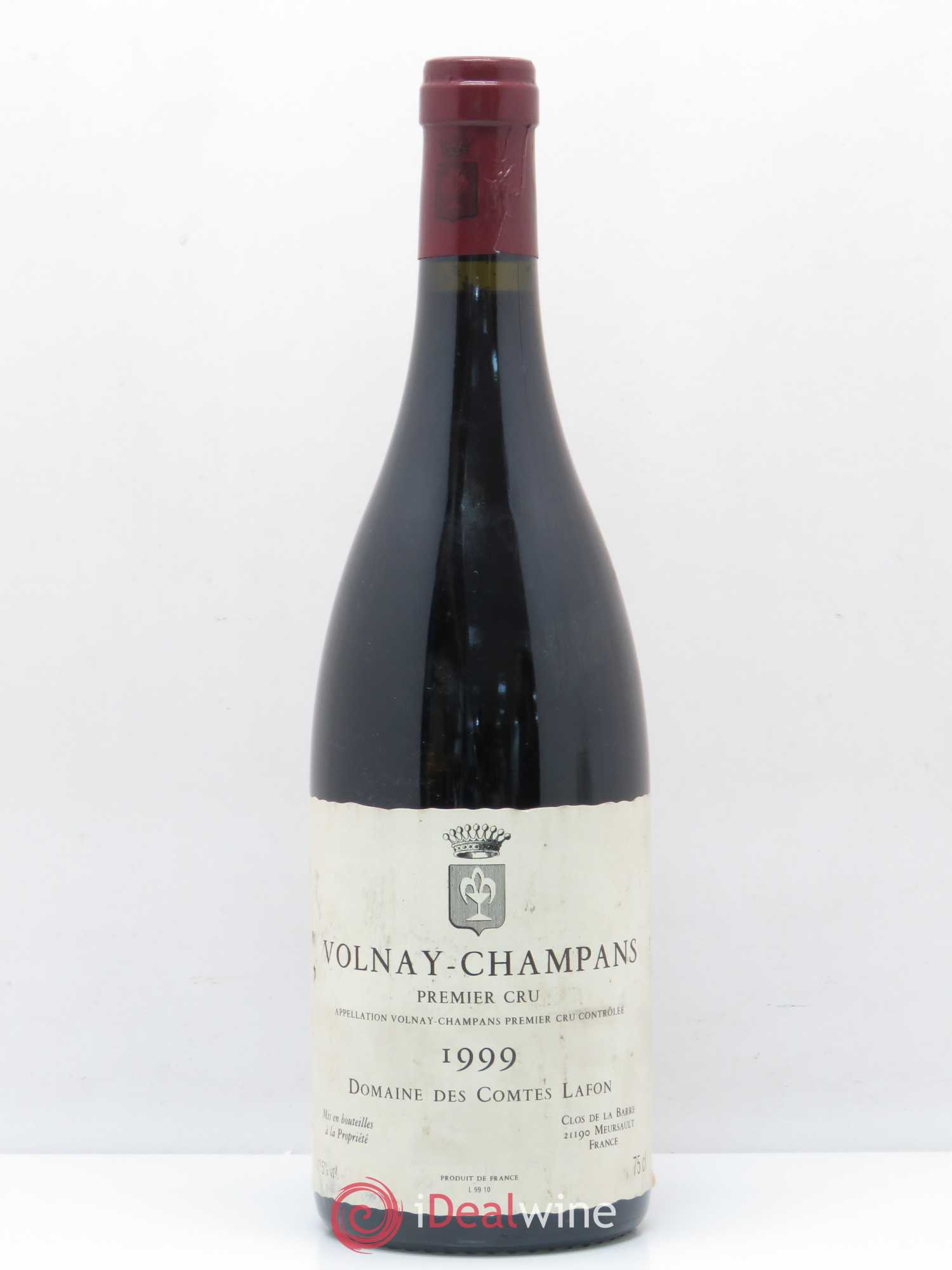 Volnay 1er Cru Champans Comtes Lafon (Domaine des)  1999 - Lot of 1 Bottle