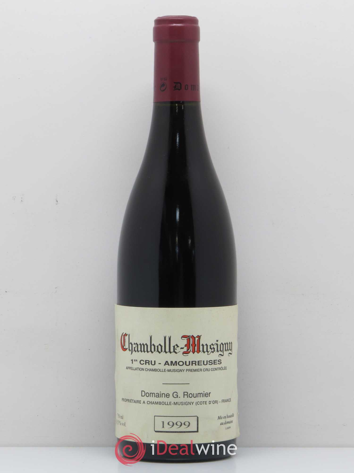 Chambolle-Musigny 1er Cru Les Amoureuses Georges Roumier (Domaine)  1999 - Lot of 1 Bottle
