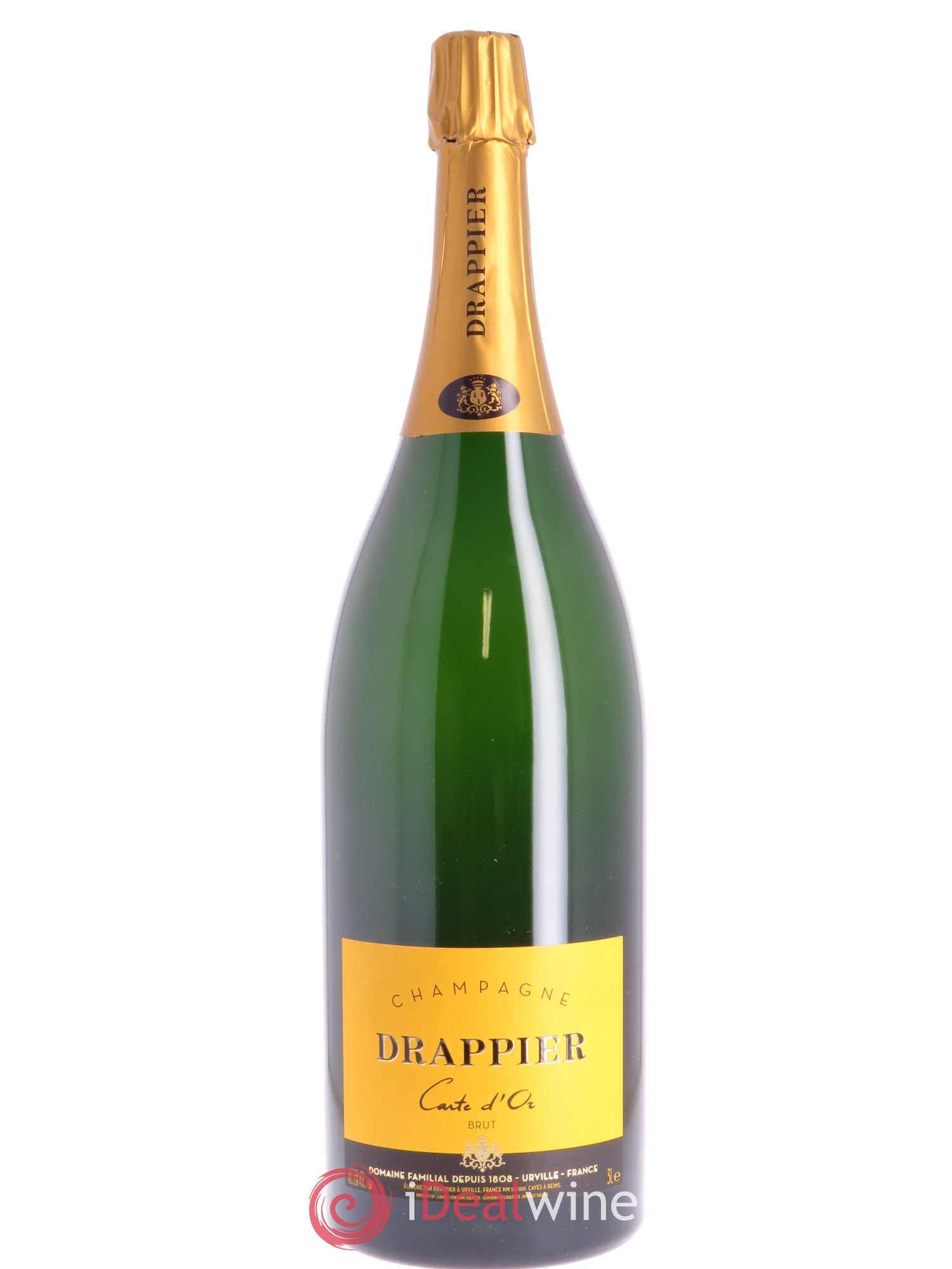 Carte d'Or Brut Drappier   - Lot de 1 Double-magnum