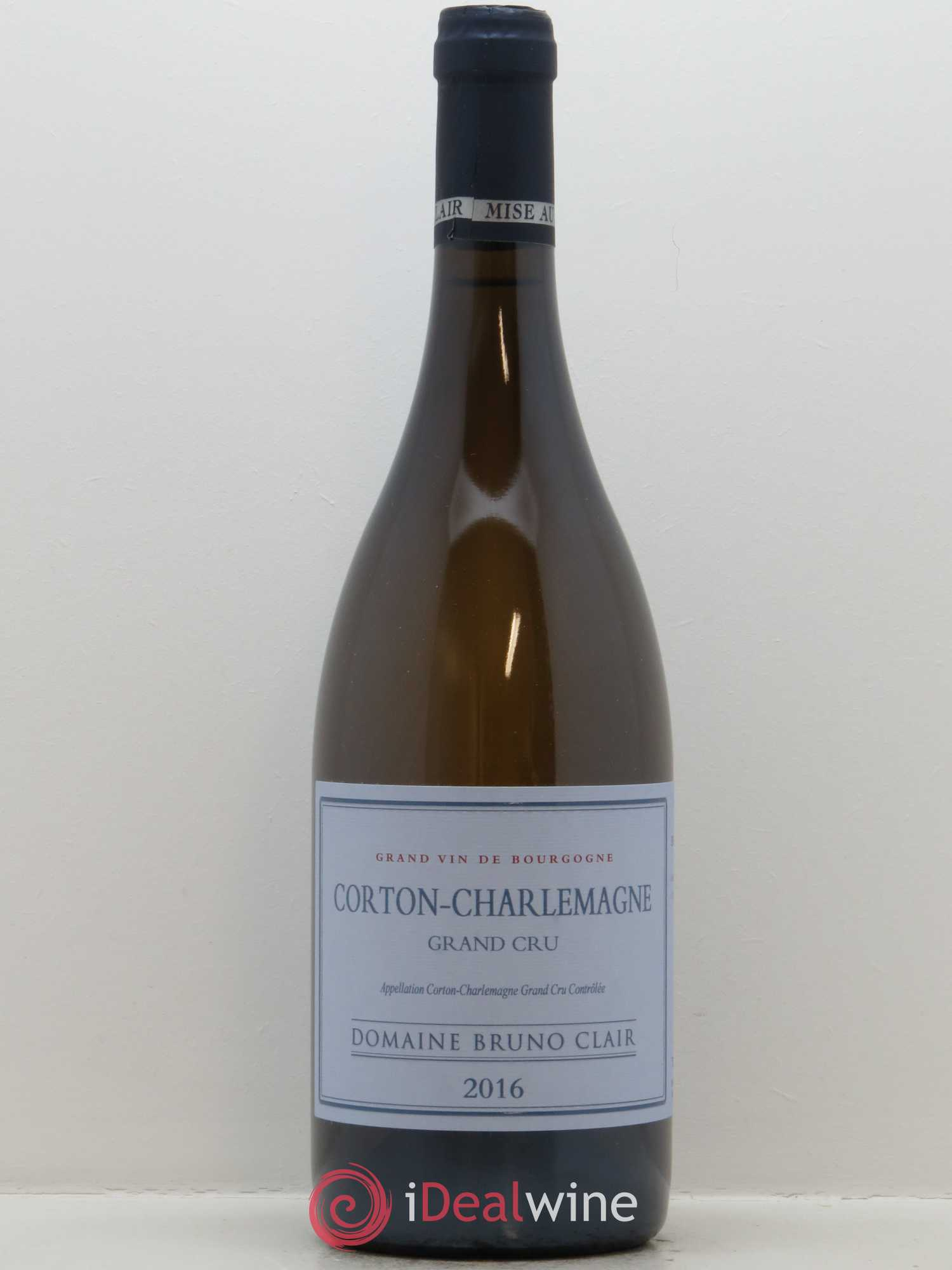 Corton-Charlemagne Grand Cru Bruno Clair (Domaine)  2016 - Lot de 1 Bouteille